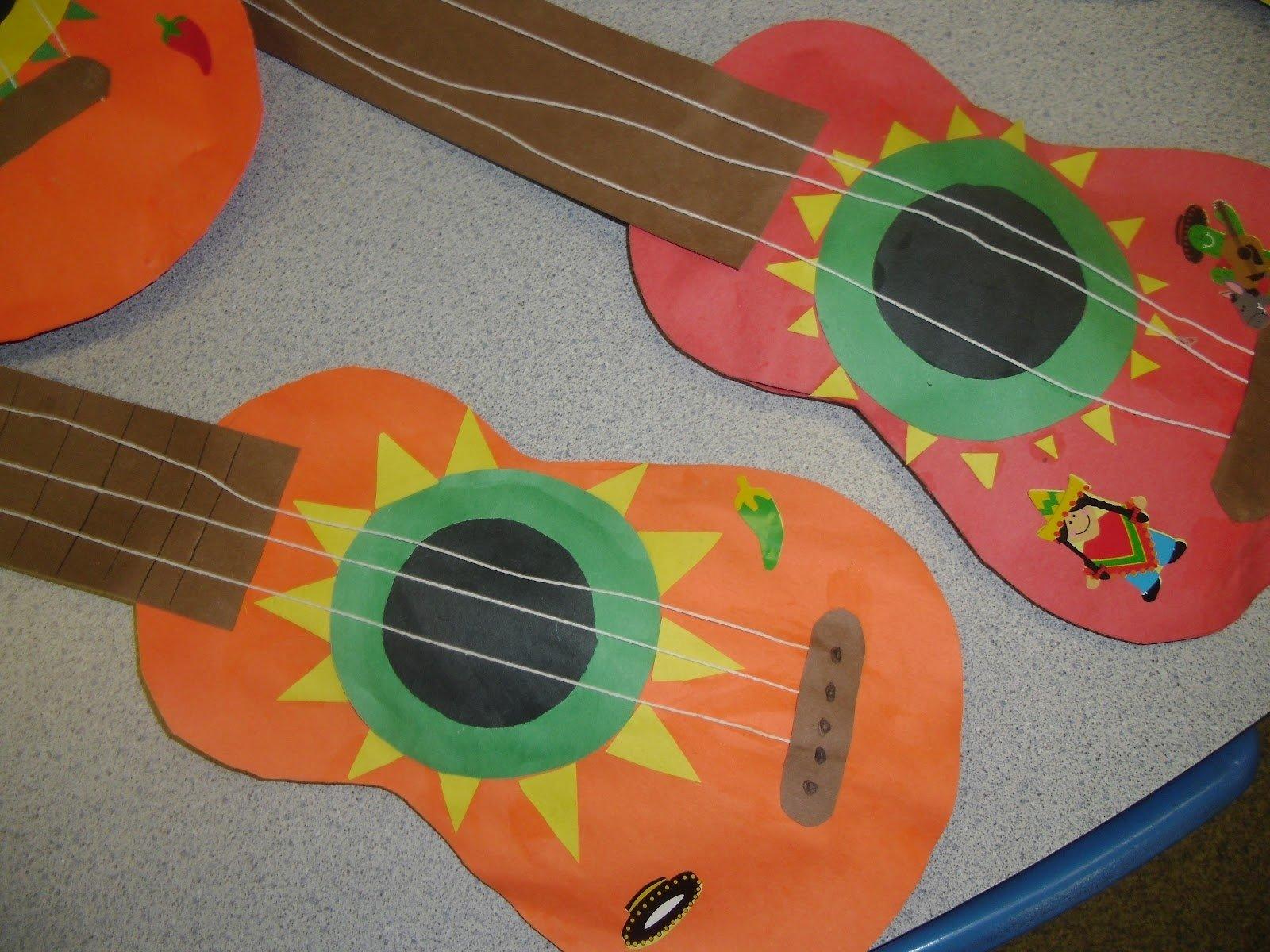 10 Lovable Cinco De Mayo Craft Ideas patties classroom cinco de mayo mariachi guitars and corn tortillas