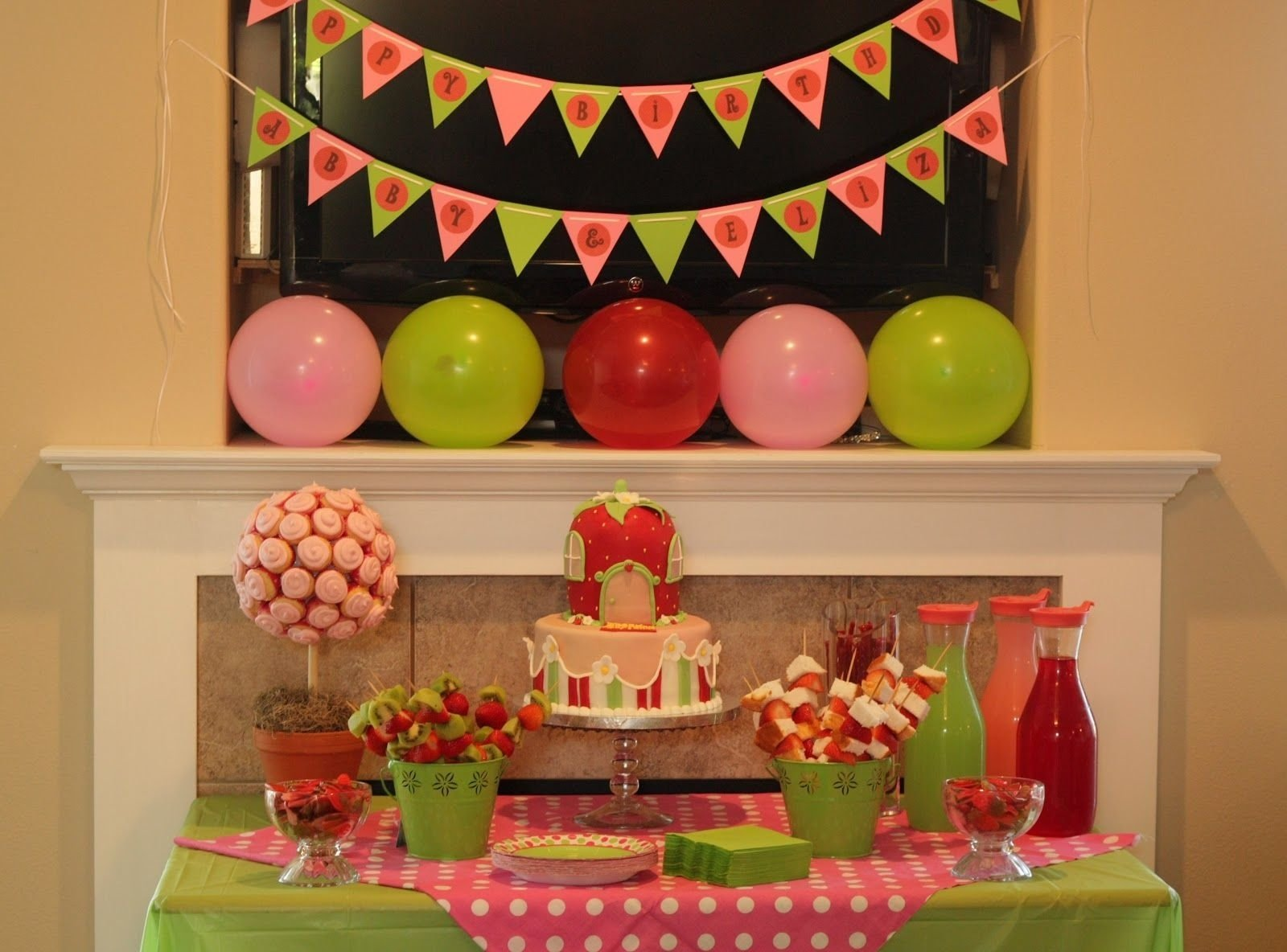 10 Attractive Strawberry Shortcake Birthday Party Ideas patty cakes bakery strawberry shortcake birthday party party 2021