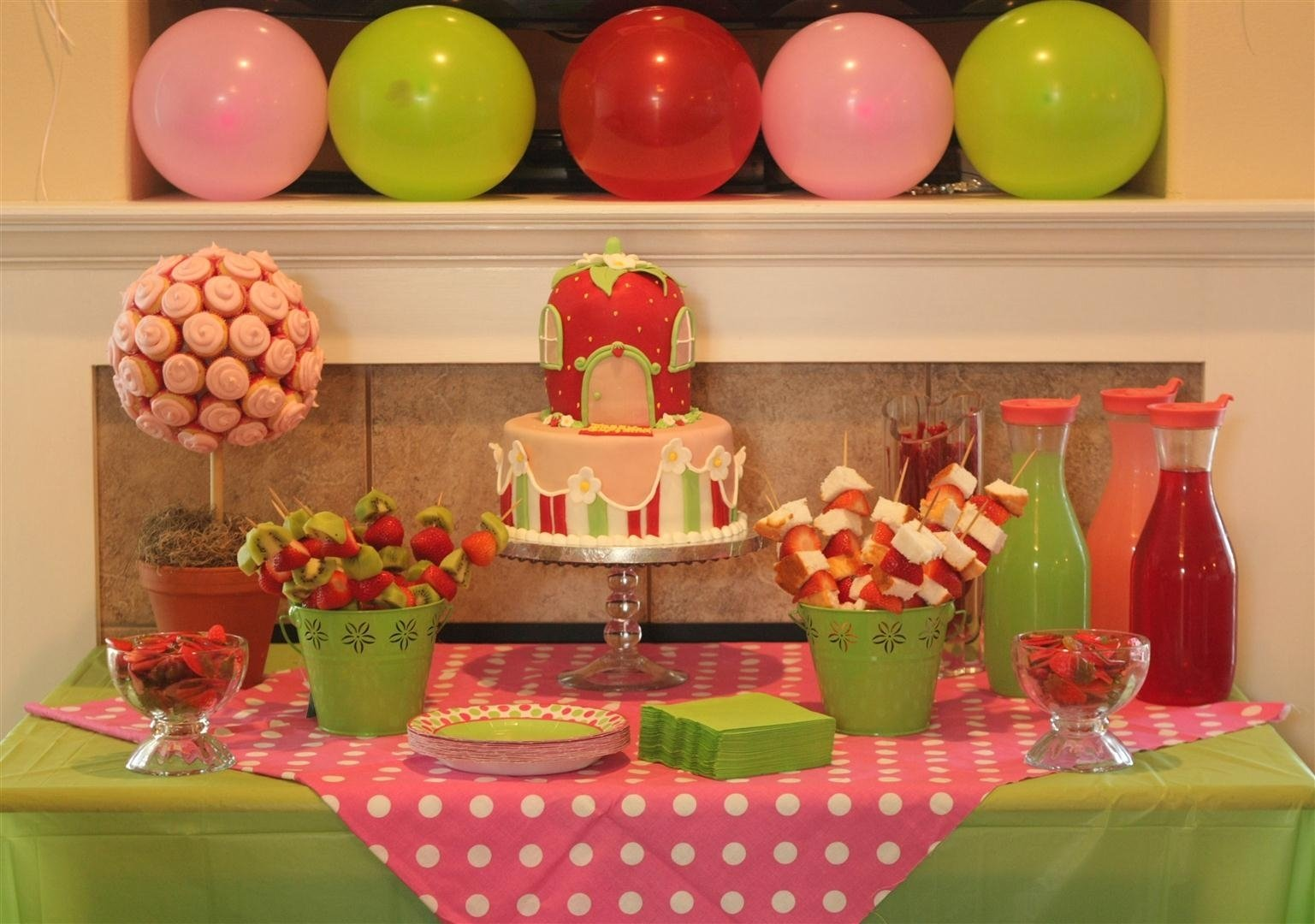 10 Attractive Strawberry Shortcake Birthday Party Ideas patty cakes bakery strawberry shortcake birthday party 2021
