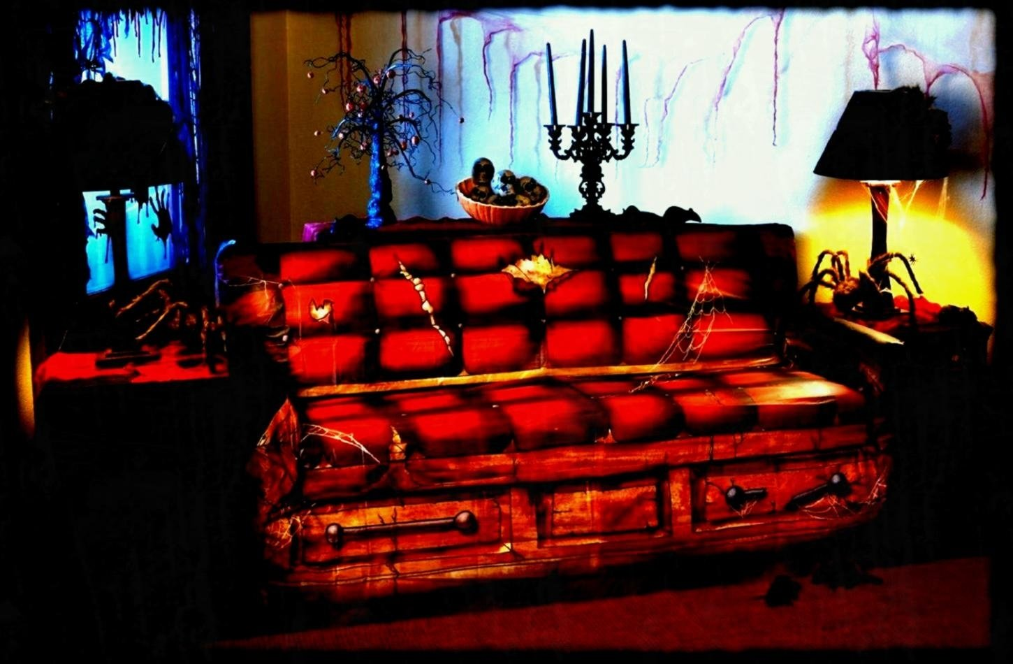 10 Stunning Scary Haunted House Room Ideas peaceful inspiration ideas halloween haunted house decoration ideas 1 2021