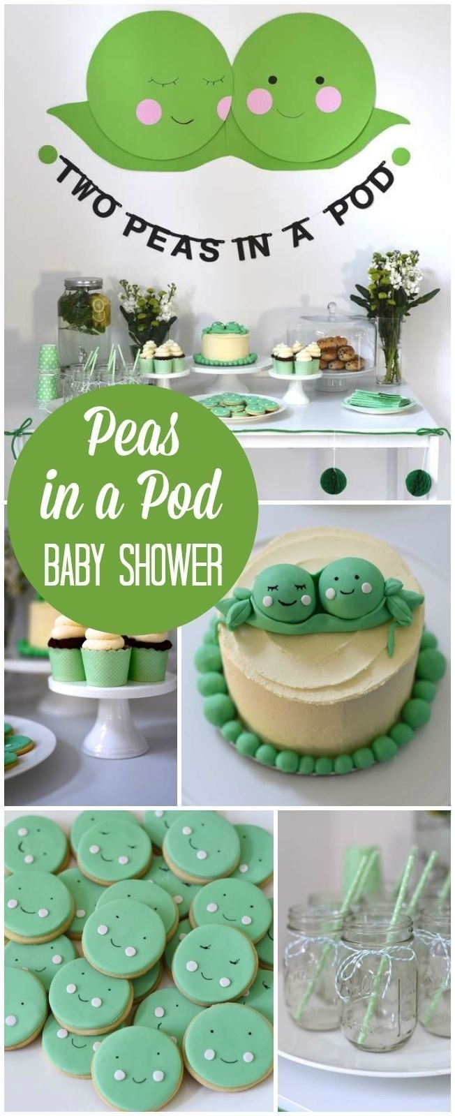 10 Most Recommended Two Peas In A Pod Baby Shower Ideas peas in a pod baby shower two peas in a pod a twin baby shower 2020