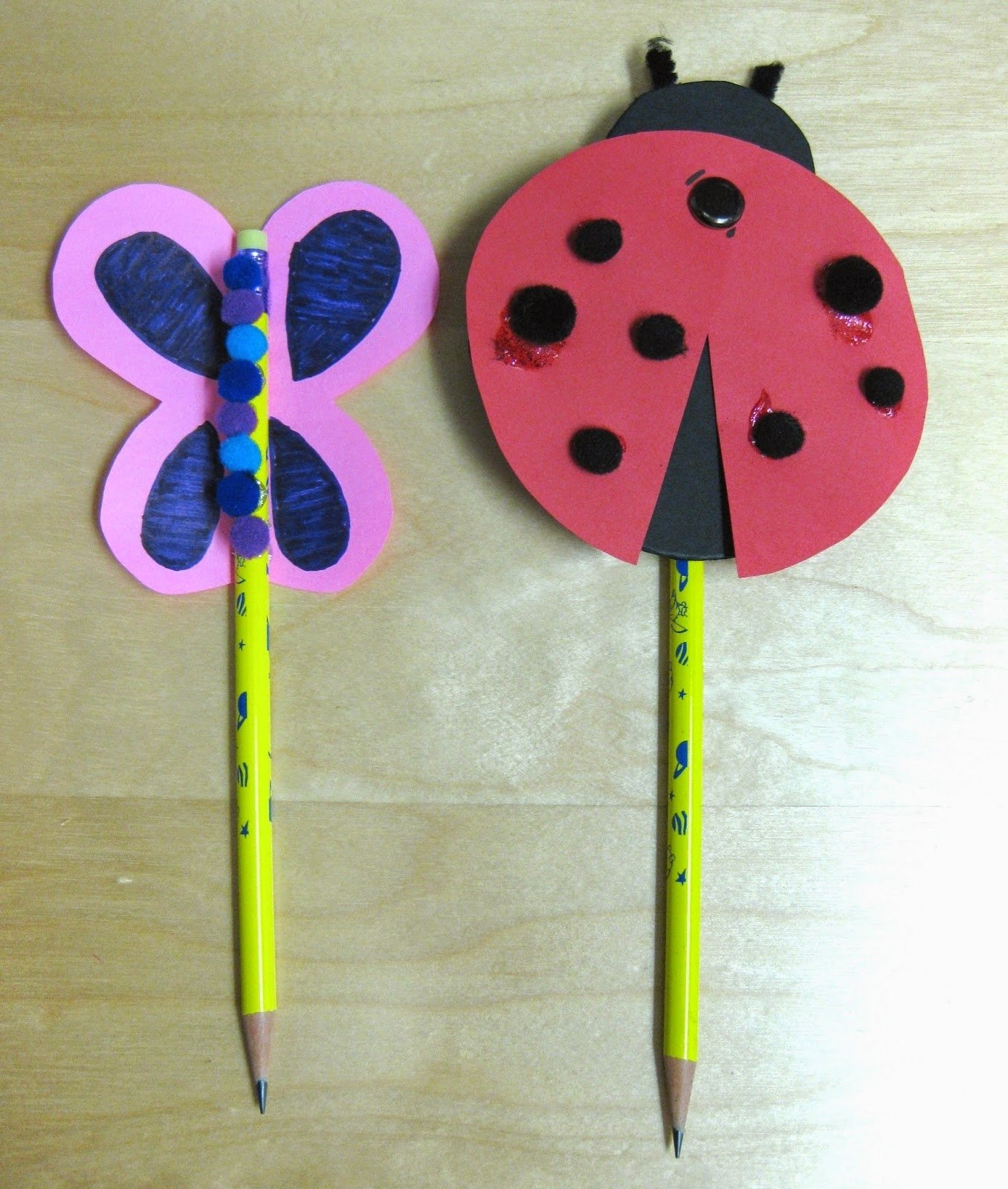 10 Perfect Easy Craft Ideas For Kids pencil craft ideas for kids easy crafts ideas to make 2020