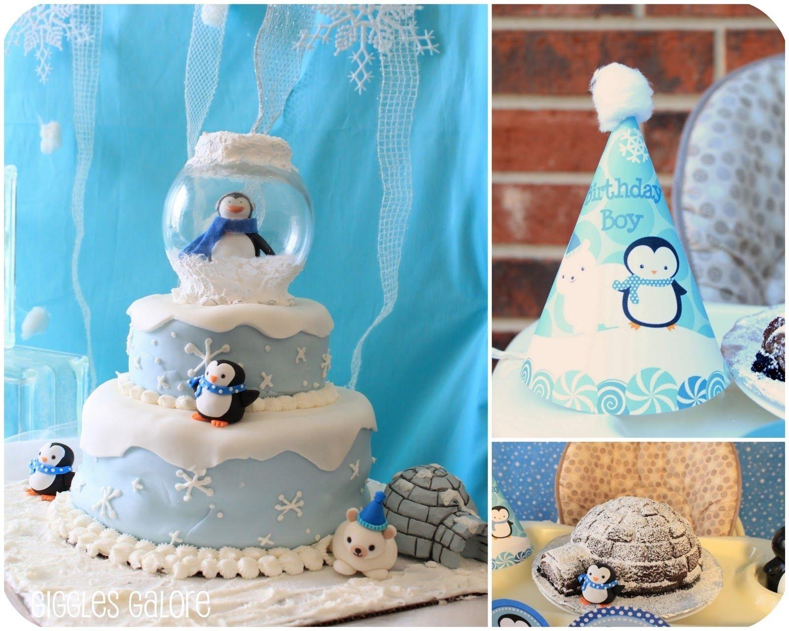 10 Great Winter Wonderland Birthday Party Ideas penguins polar bears winter onederland birthday party winter 2 2021