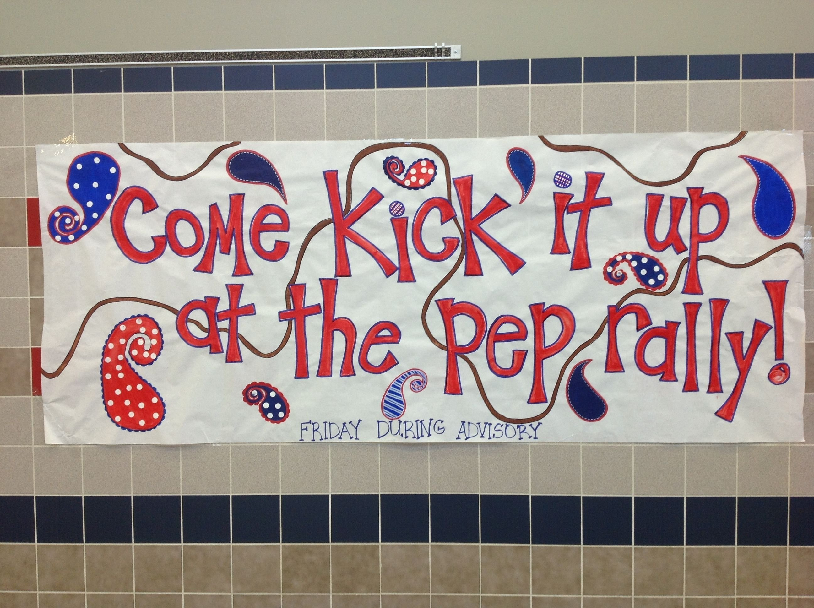 10 Fantastic Pep Rally Ideas High School pep rally poster its a cheer thing pinterest pep rally 2