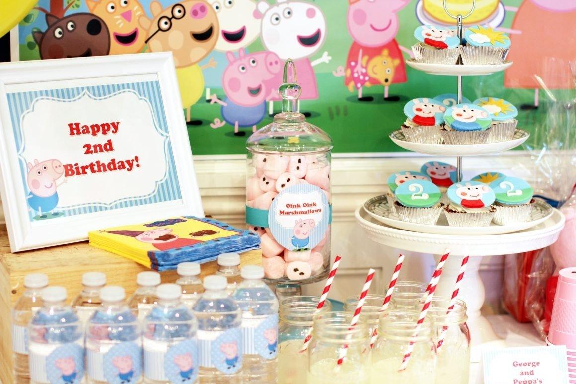 10 Unique Peppa Pig Birthday Party Ideas peppa and george pig birthday party part 1 2021