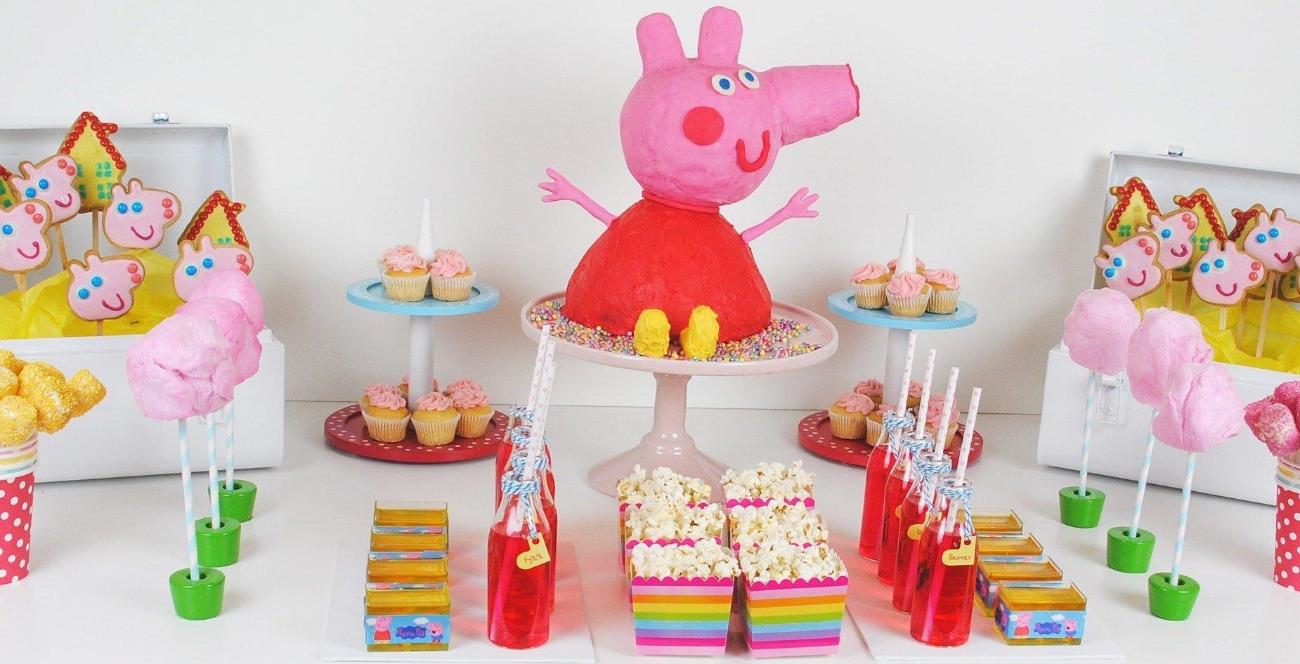 10 Unique Peppa Pig Birthday Party Ideas peppa pig birthday party decorations assorted ideas sandy wonderful 2021