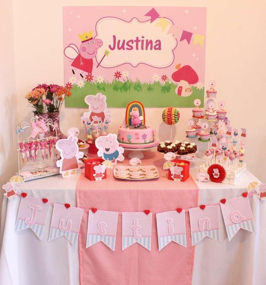 10 Unique Peppa Pig Birthday Party Ideas peppa pig birthday party ideas photo 4 of 14 catch my party 2021