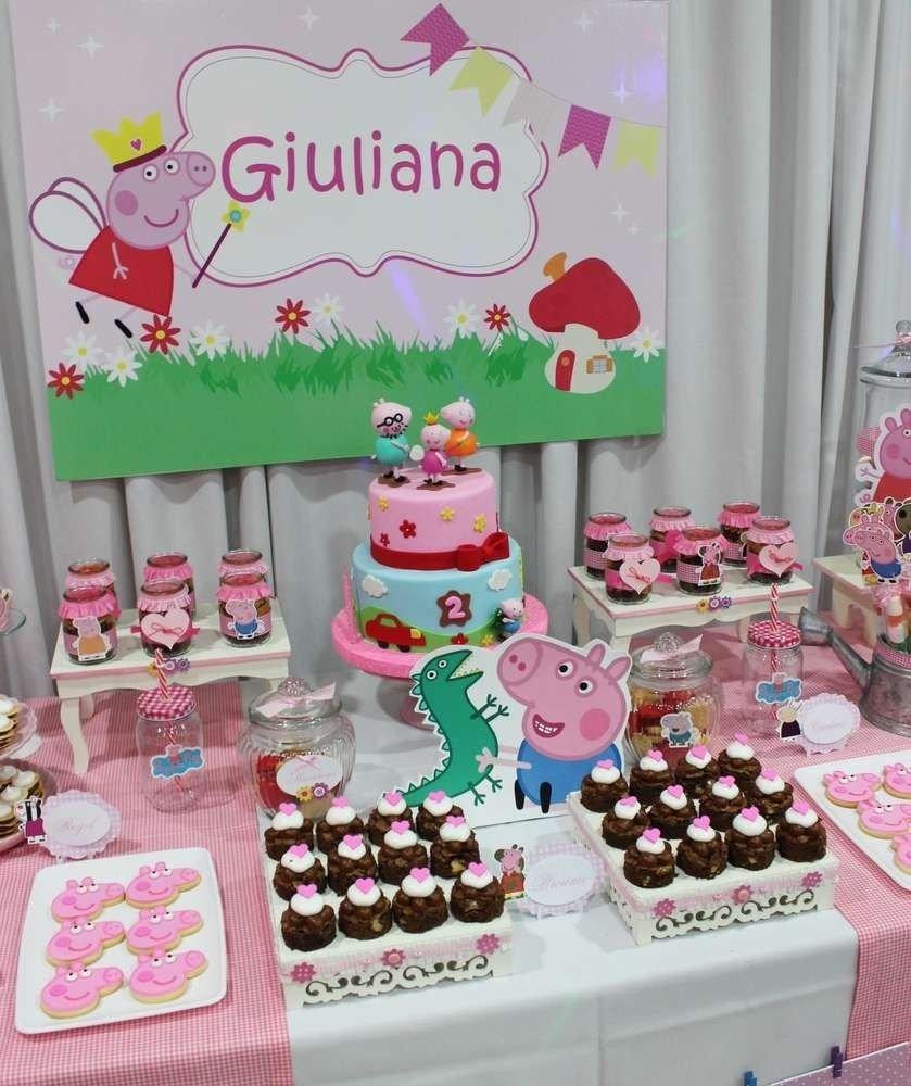 peppa pig birthday party ideas | pig birthday, birthdays and pig party