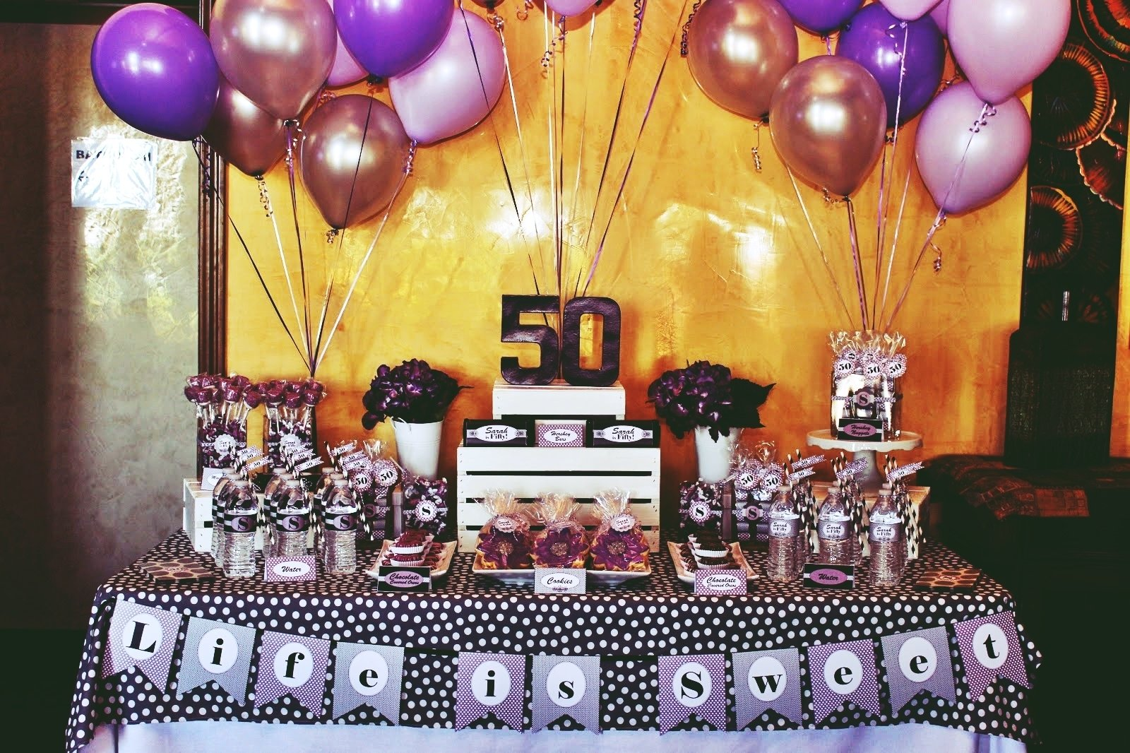 10 Lovely Birthday Celebration Ideas For Women perfect 50th birthday party themes for youbirthday inspire 3