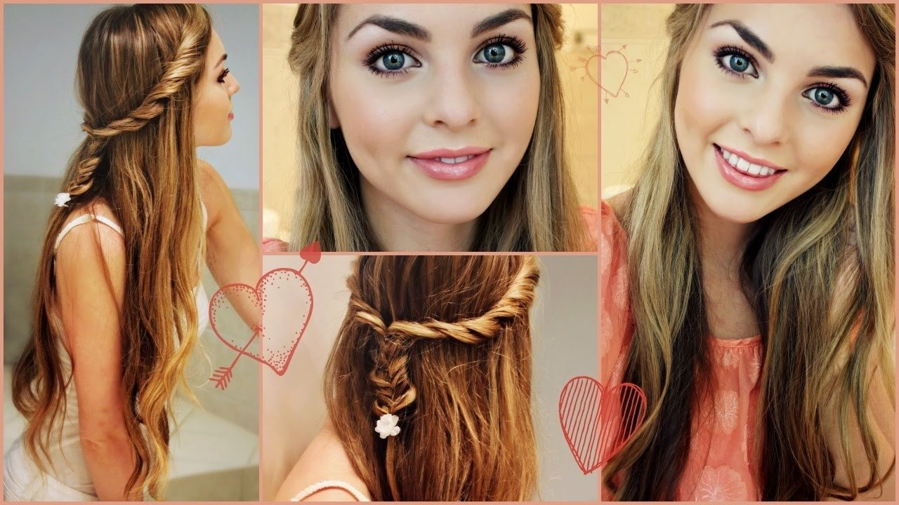 10 Unique First Day Of School Hair Ideas perfect first day of high school hair makeup jackie wyers youtube 2020