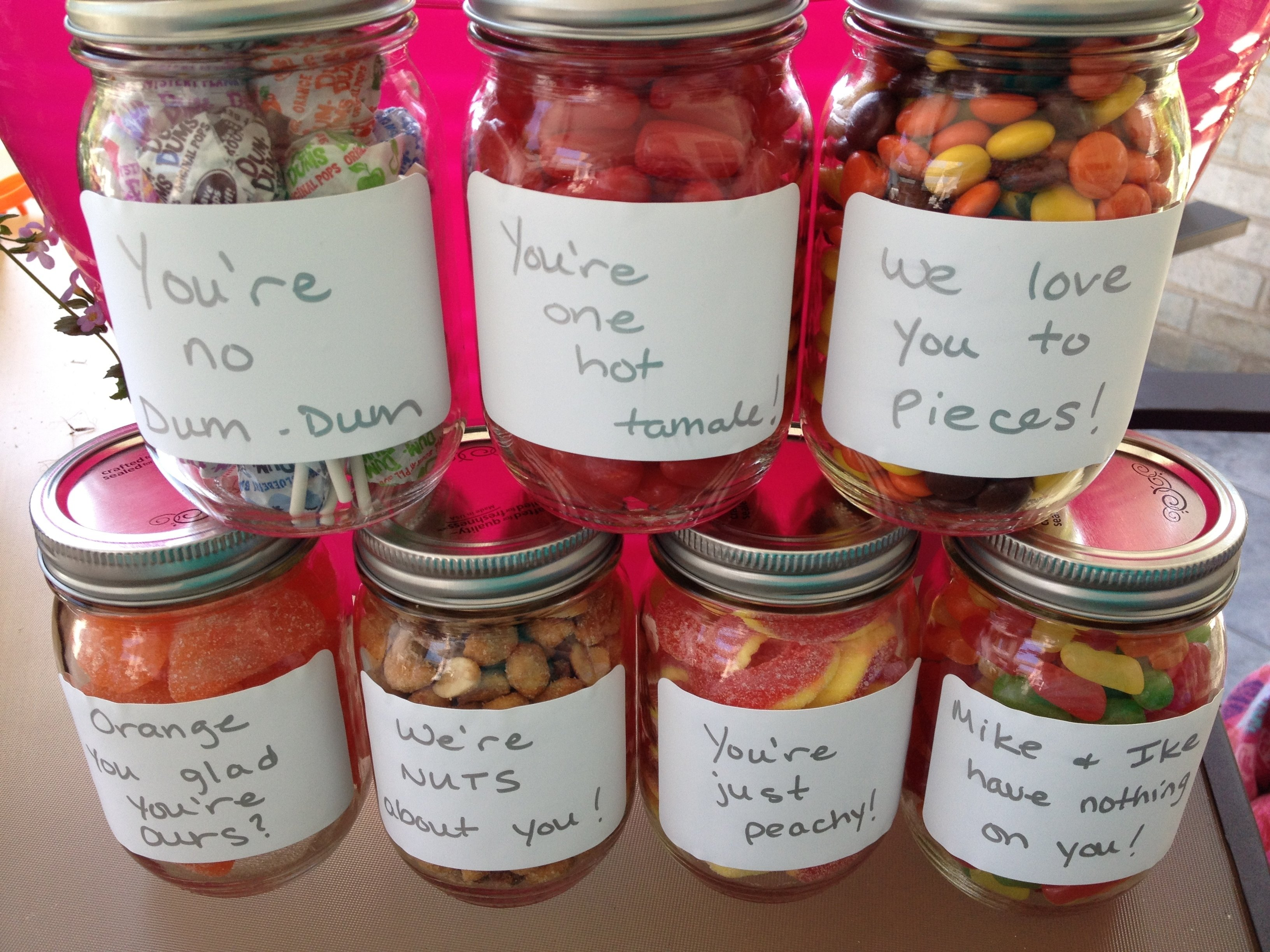 10 Perfect Gift Ideas Using Mason Jars perfect gift for dad candy in mason jars with cute sayings diy 1 2020