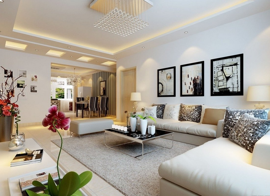 10 Fashionable Wall Decorating Ideas For Living Rooms perfect large living room wall decor ideas large living room wall 4 2020