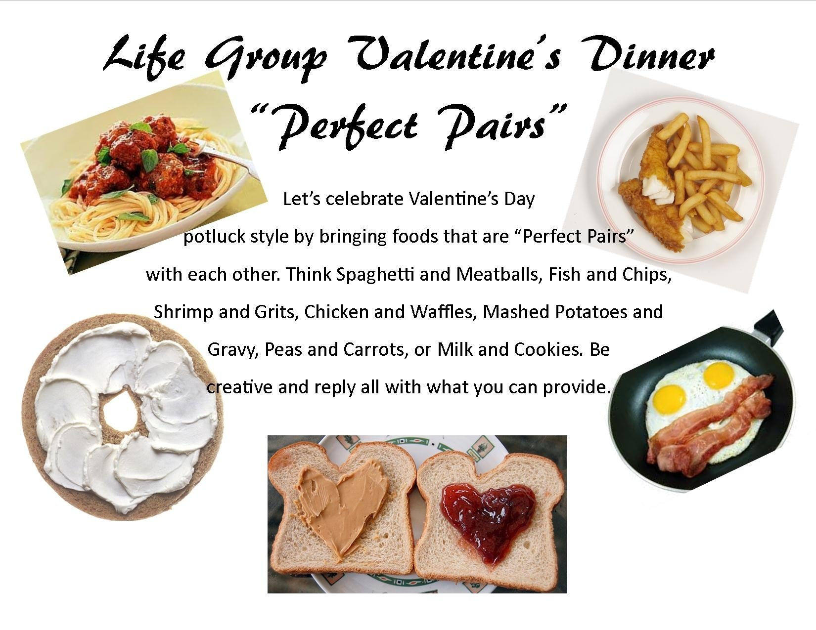 10 Awesome Food Day At Work Ideas perfect pairs potluck valentines day themed party clementine bean 1 2020