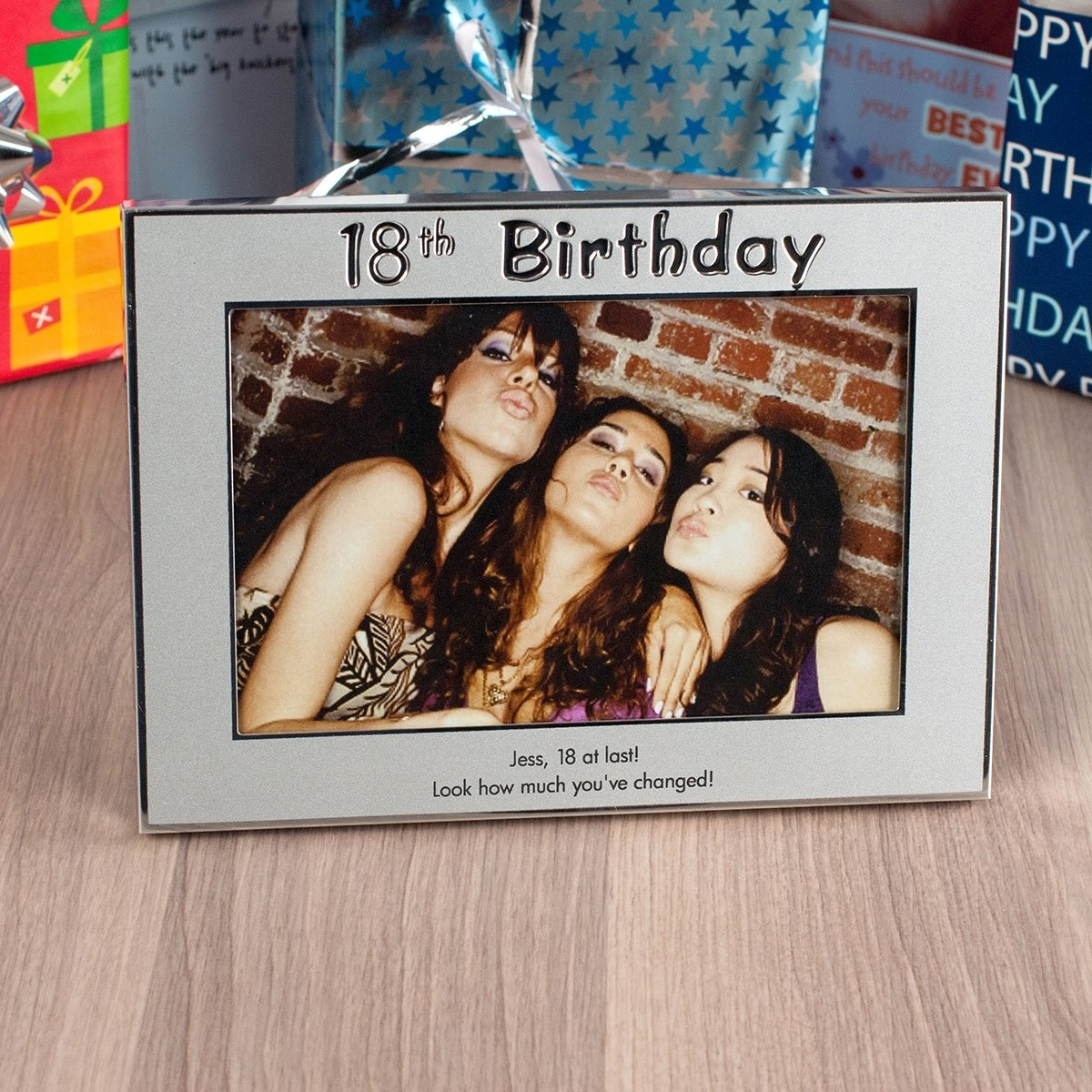 10 Amazing Good 18Th Birthday Present Ideas personalised 18th birthday silver photo frame engraved 2020