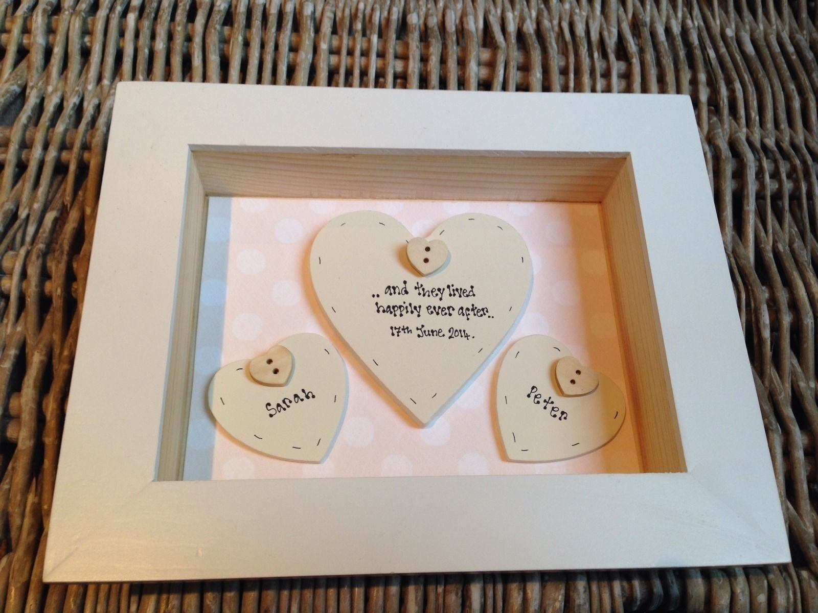 10 Lovable Grooms Gift From Bride Ideas personalised chic box frame gift for bride groom on wedding day 1 2021