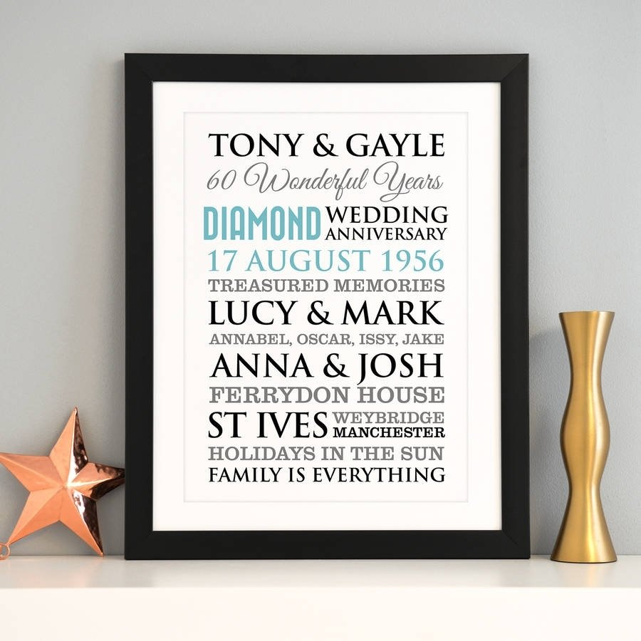 10 Spectacular 60Th Wedding Anniversary Gift Ideas