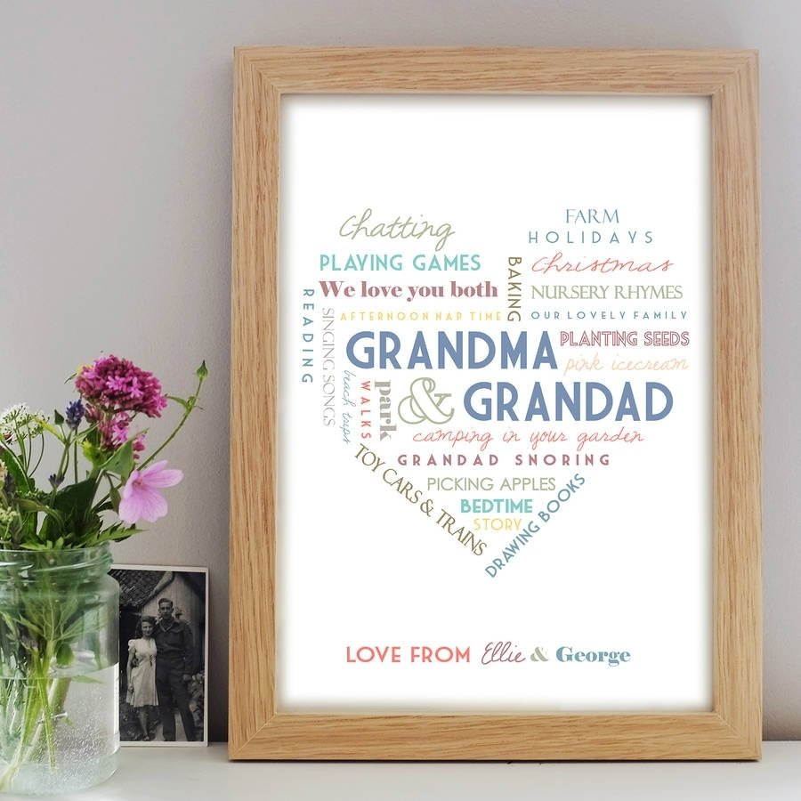 10 Most Recommended Grandparents To Be Gift Ideas personalised grandparent printlittle pieces notonthehighstreet 2020