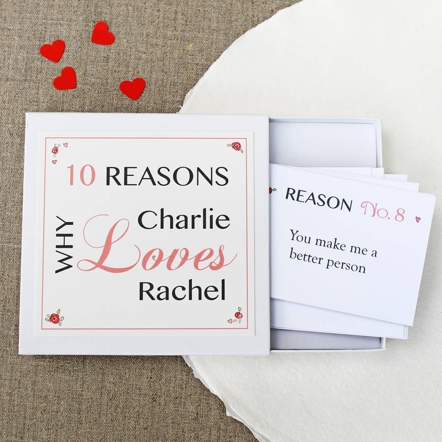 10 Wonderful Personalized Gift Ideas For Him personalised love notesmartha brook notonthehighstreet 2020