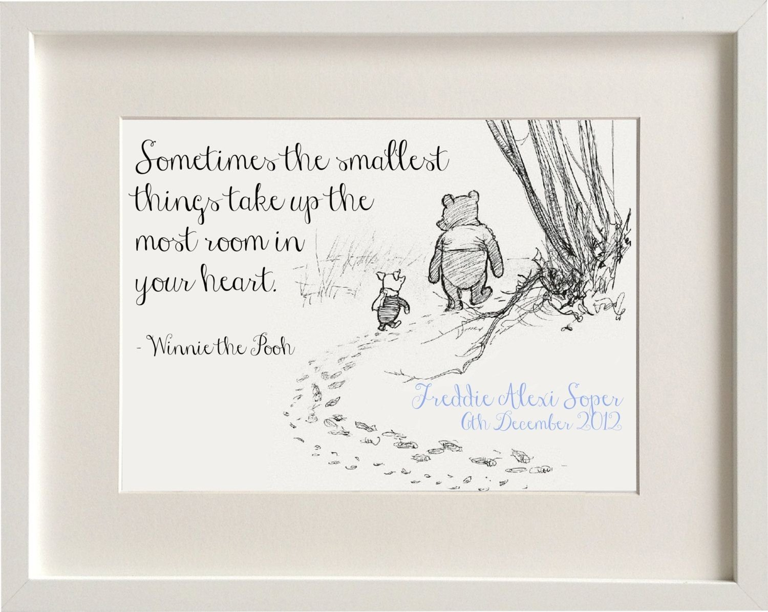 10 Elegant Baby Boy Baptism Gift Ideas personalised new baby boy girl winnie the pooh quote nursery birth 2020