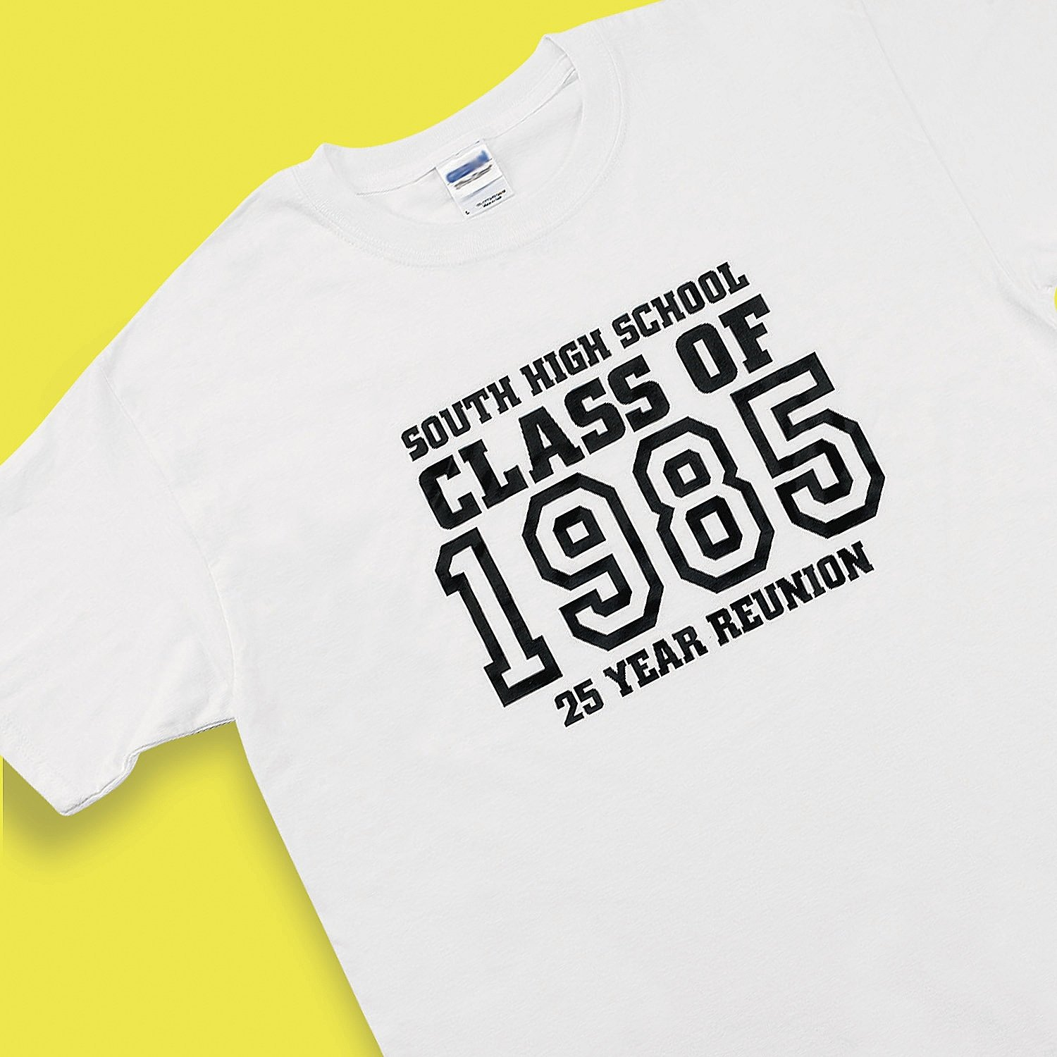 10 Unique Class Reunion Ideas 50 Years personalized class of white t shirt adult xxl 50 52 2020