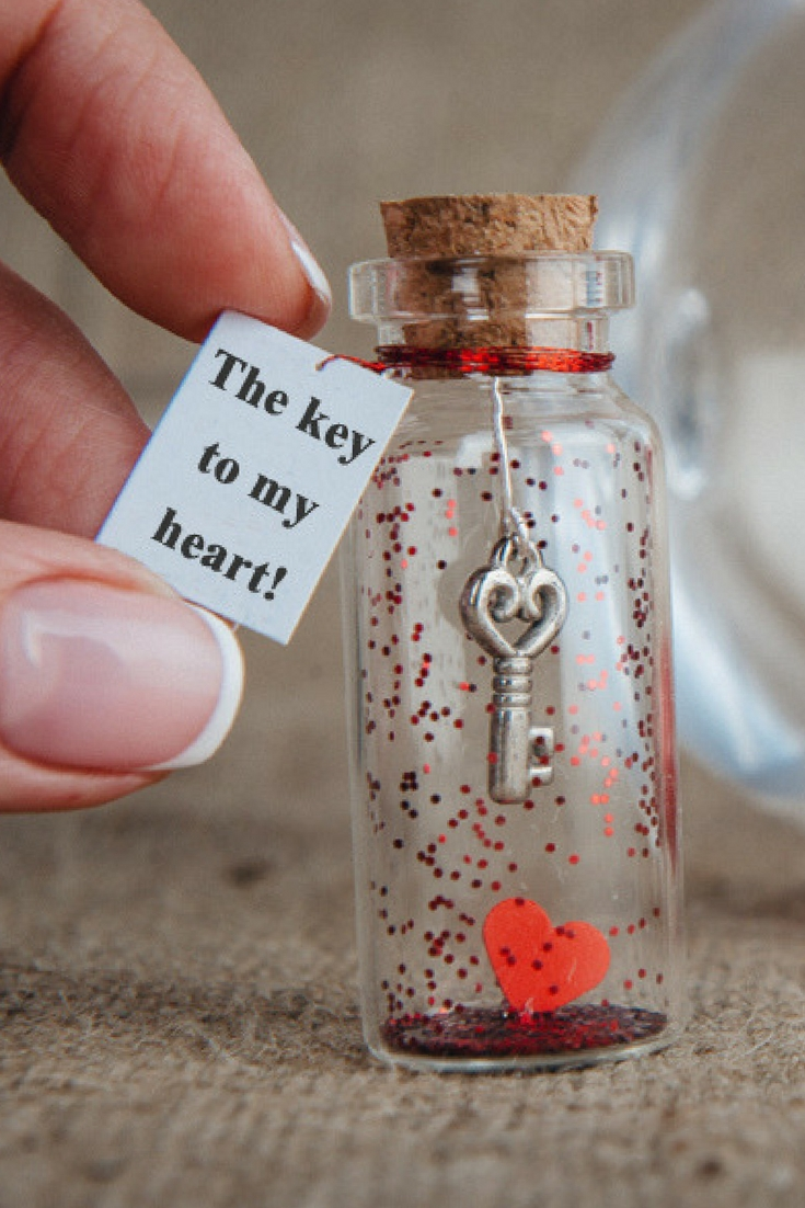 10 Lovable Small Gift Ideas For Girlfriend personalized gift for girlfriend gift for boyfriend key to my heart 2020