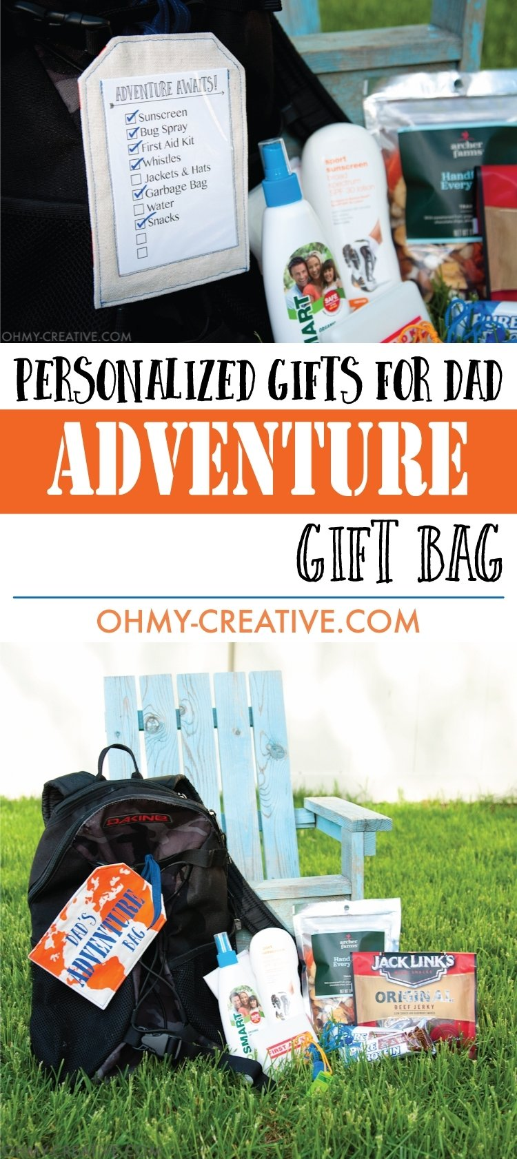 10 Great Gift Idea For Dad Who Has Everything personalized gifts for dad adventure gift bag dads creative and 2020