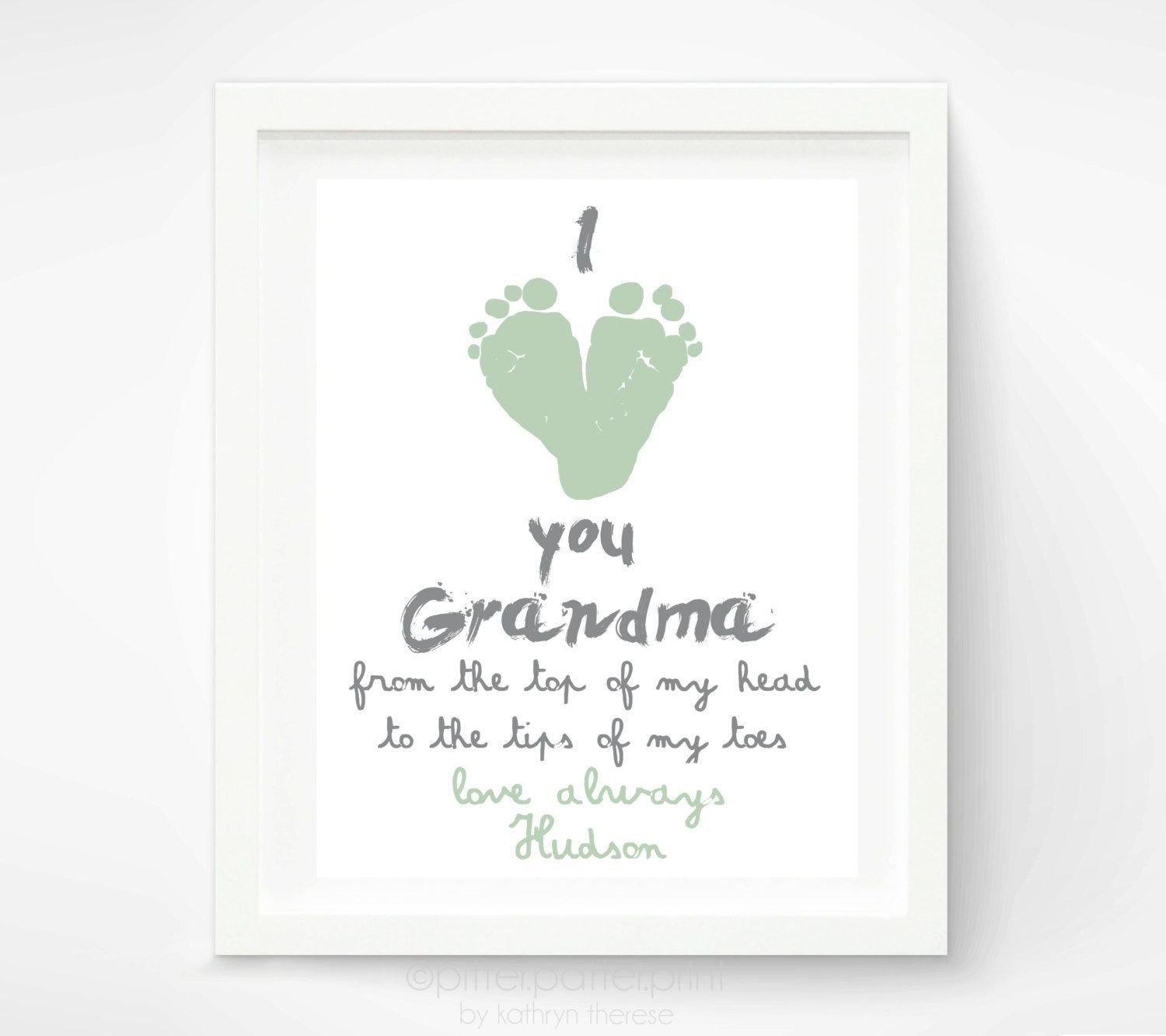 10 Lovable First Mothers Day Gift Ideas personalized mothers day gift for grandma from baby i love you 2020