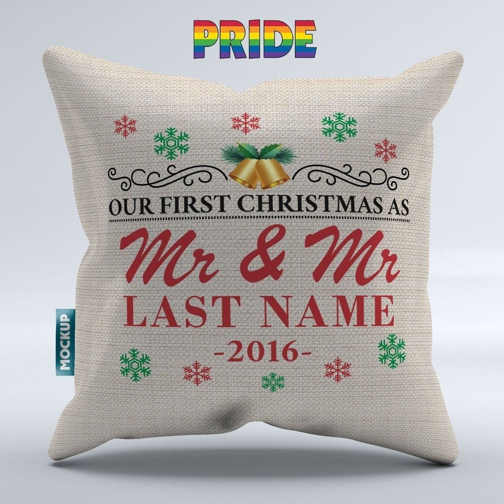 10 Nice First Christmas Married Gift Ideas personalized our first christmas as mr mrs mrs mrs mr mr 2020