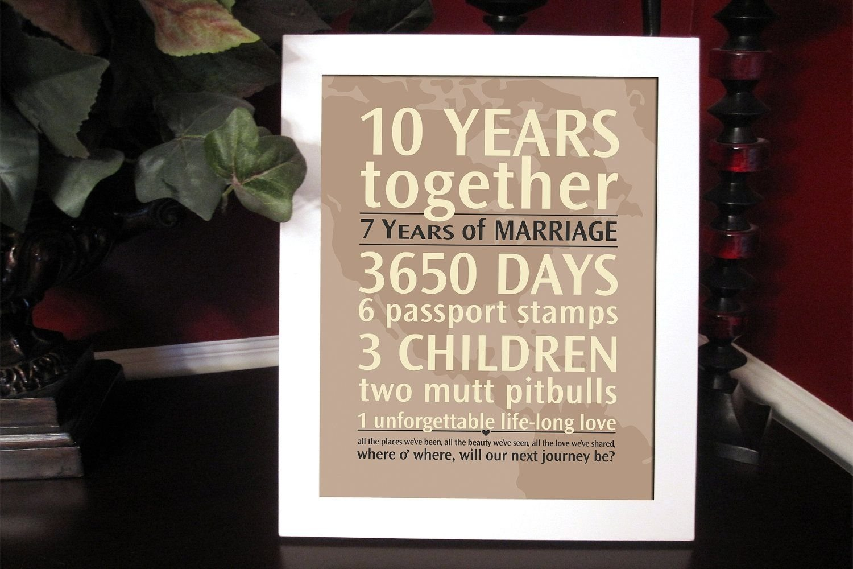 10 Nice Vow Renewal Ideas 10 Years personalizedanniversarygiftyourlovesbyjackaroodesigningco 2020
