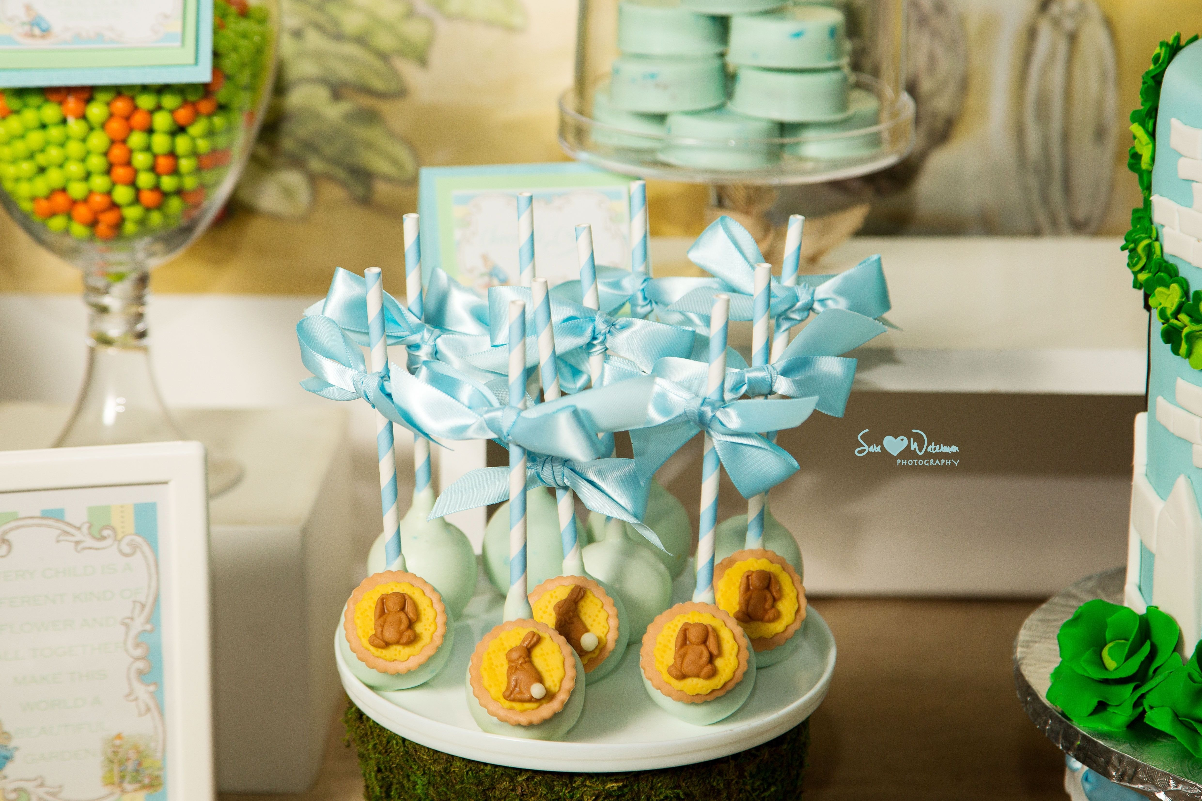 10 Perfect Peter Rabbit Baby Shower Ideas peter rabbit easter bunny baby shower dessert table with themed 2020