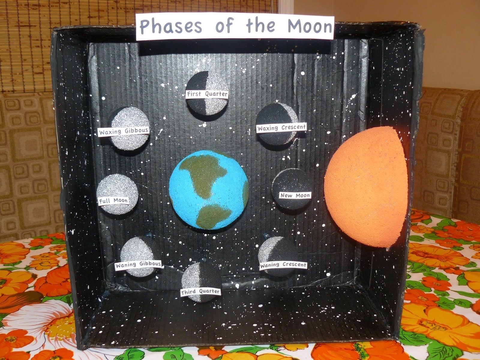 10 Attractive Phases Of The Moon Project Ideas phases of the moon projects miss ms science project phases of 2020