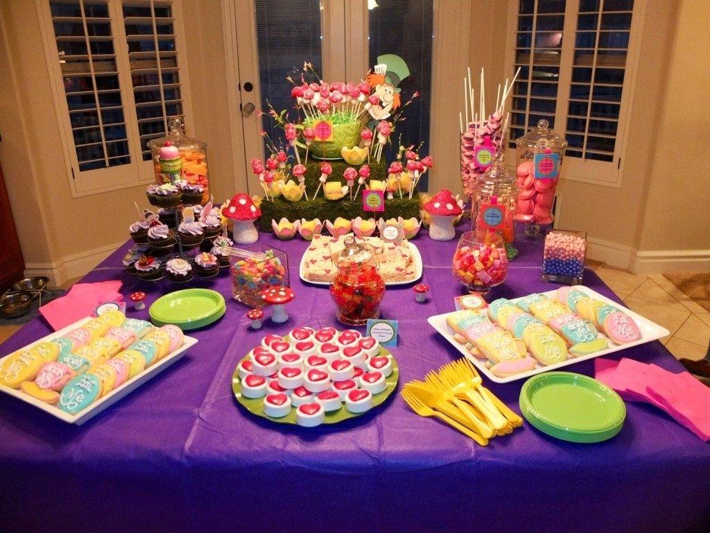 10 Elegant Alice In Wonderland Party Food Ideas photo alice and wonderland baby shower image 1 2021