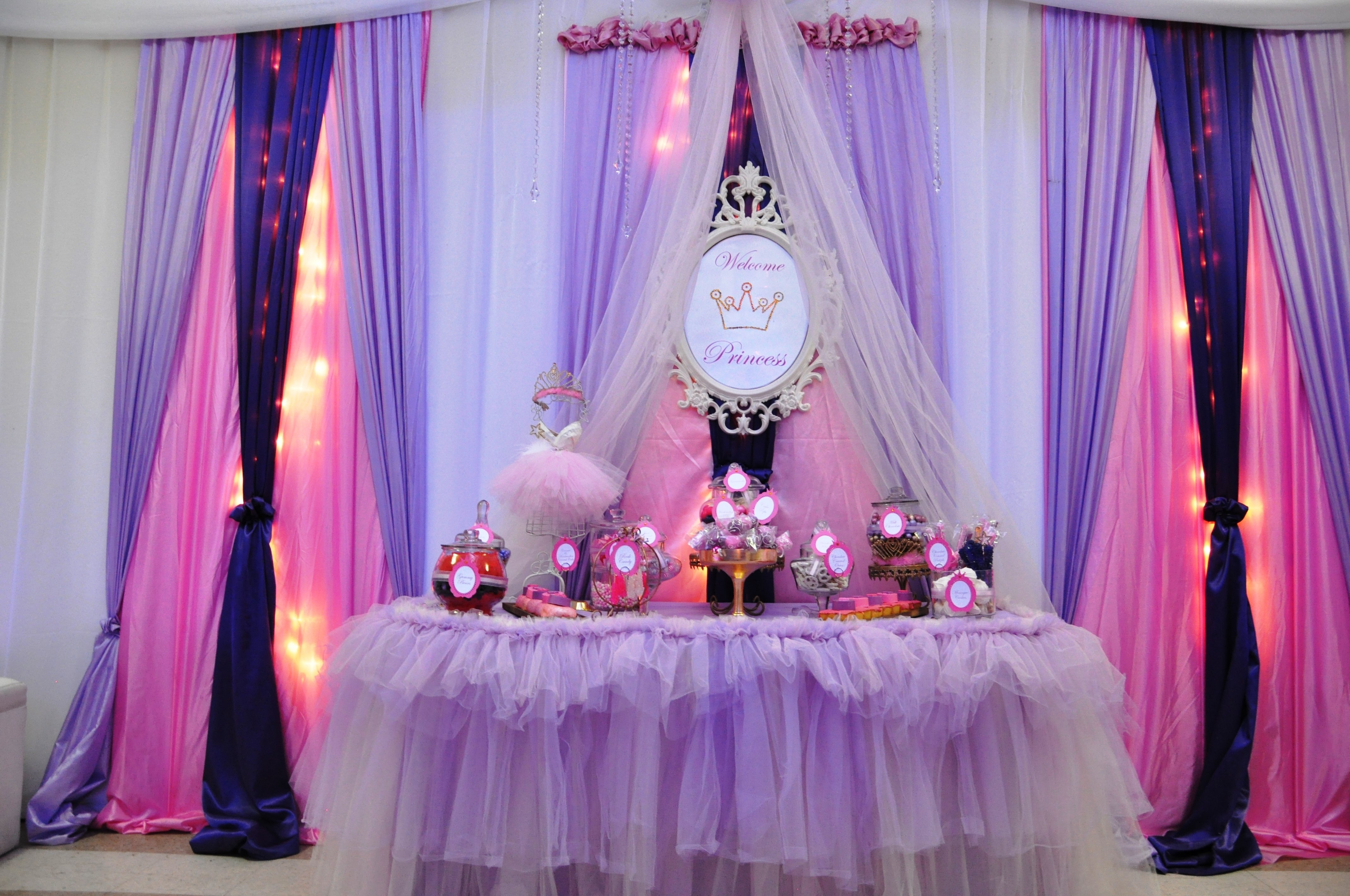 10 Spectacular Princess Theme Baby Shower Ideas photo baby shower favor ideas image