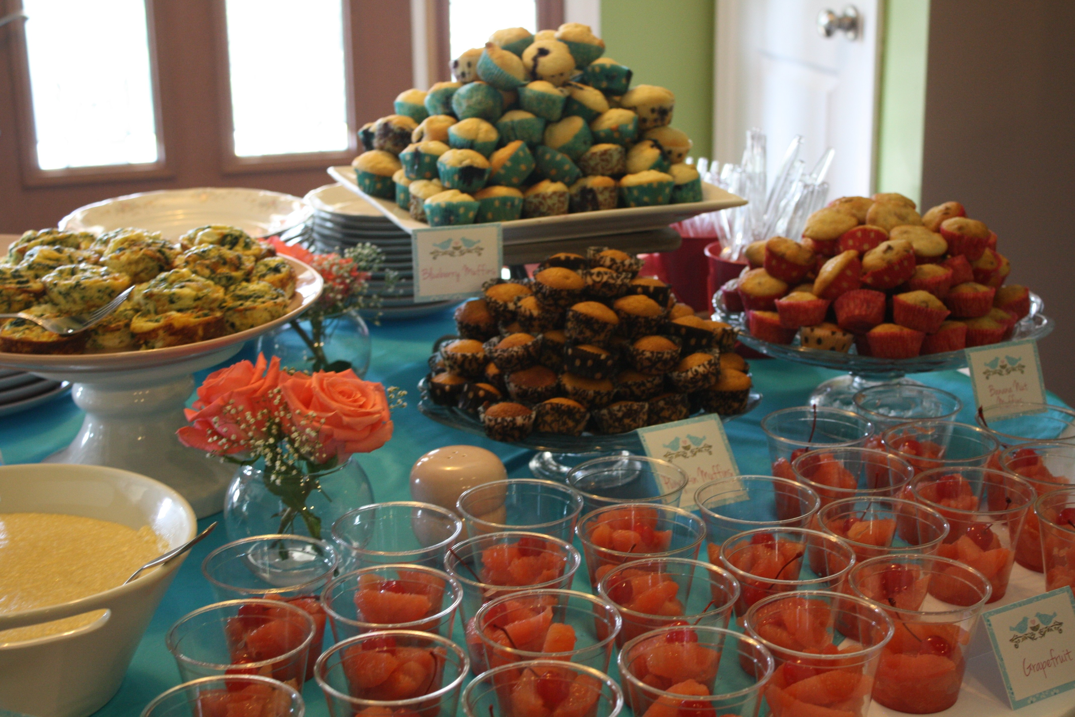 10 Gorgeous Baby Shower Food And Drink Ideas photo baby shower ideas for image 1 2021