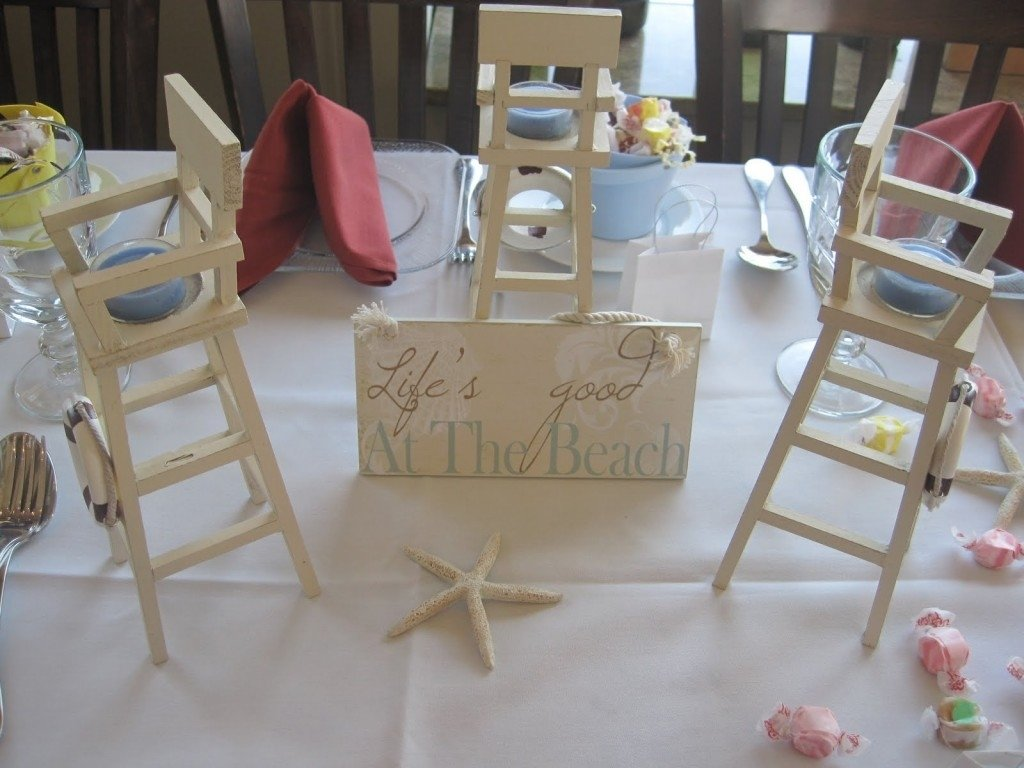 10 Great Beach Theme Bridal Shower Ideas photo beach theme bridal shower centerpiece image 2020