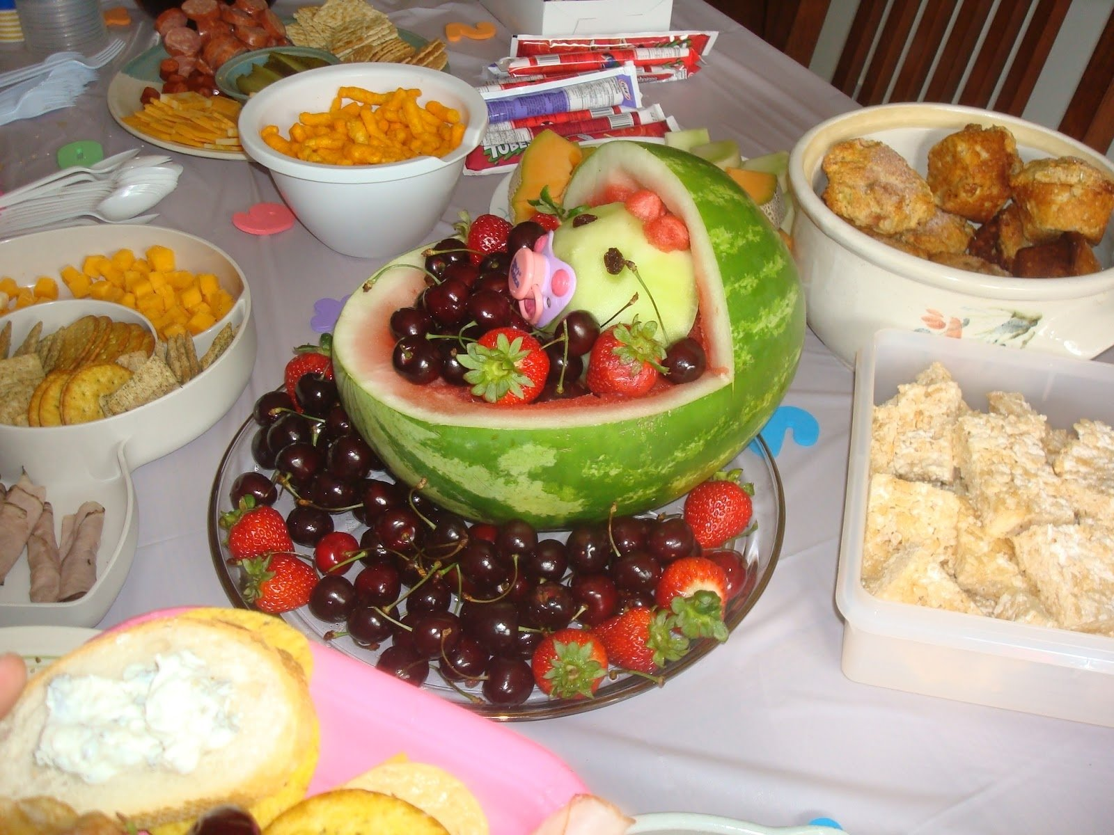 10 Gorgeous Creative Baby Shower Food Ideas photo best baby shower finger image 2