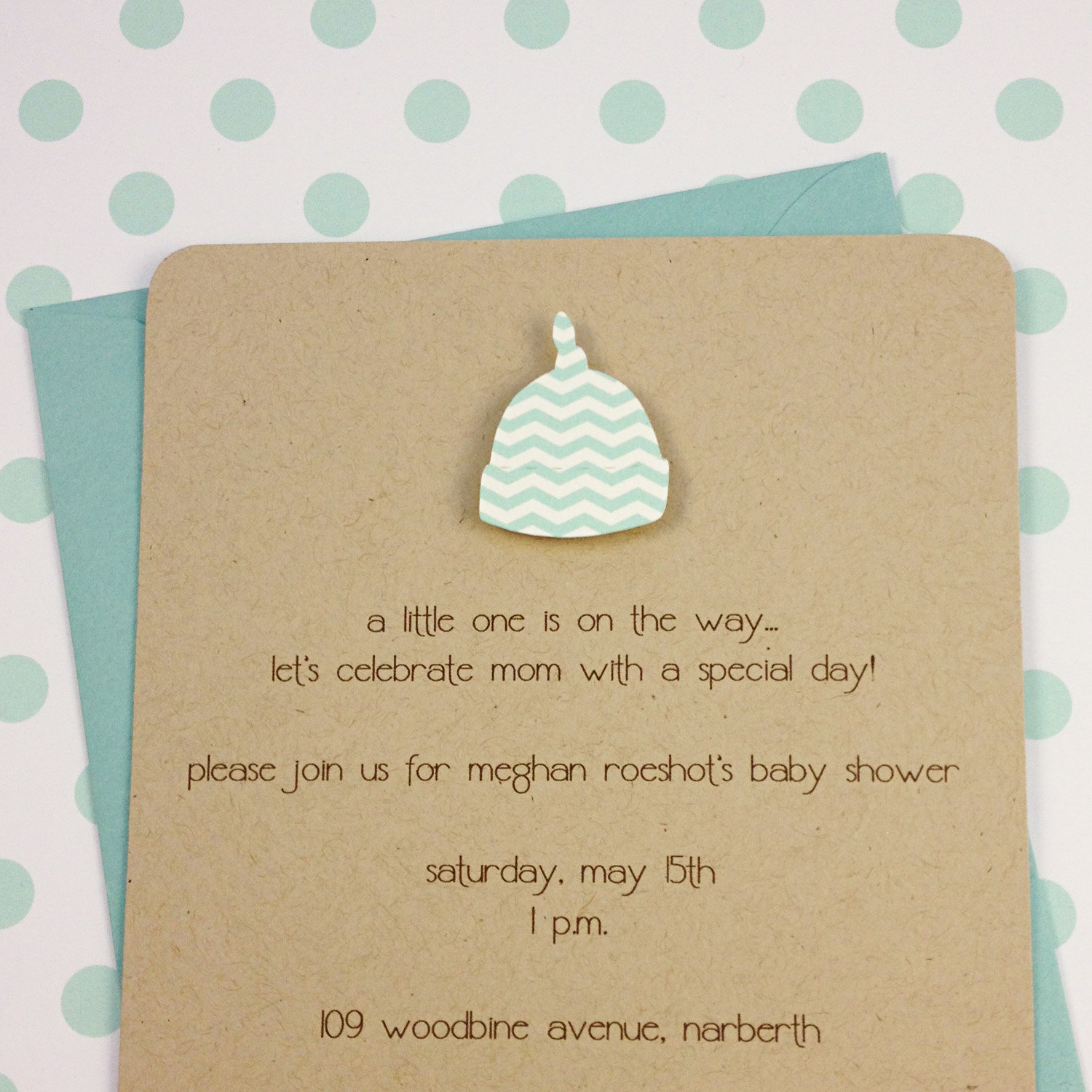 10 Nice Cute Ideas For Baby Shower Invitations photo boys baby shower invitation image