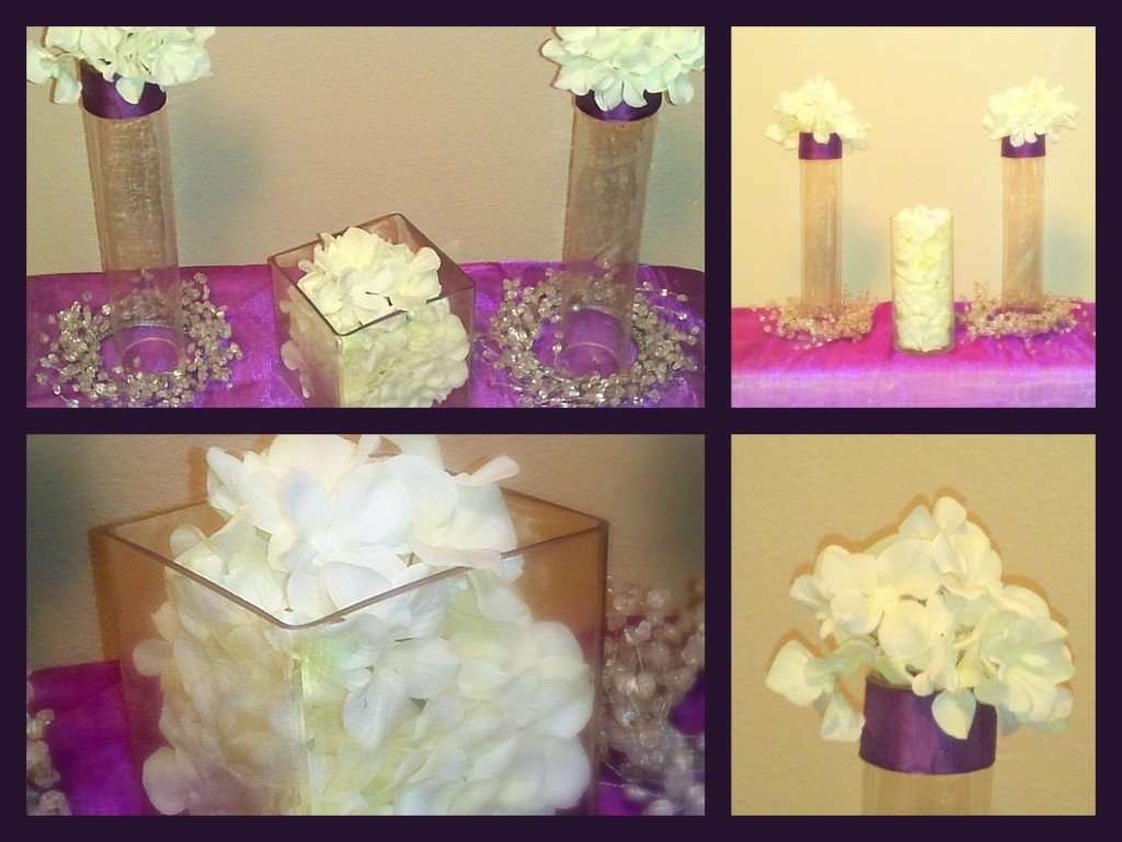 10 Most Popular Bridal Shower Decoration Ideas Homemade photo centerpiece ideas cre8tive soiree image