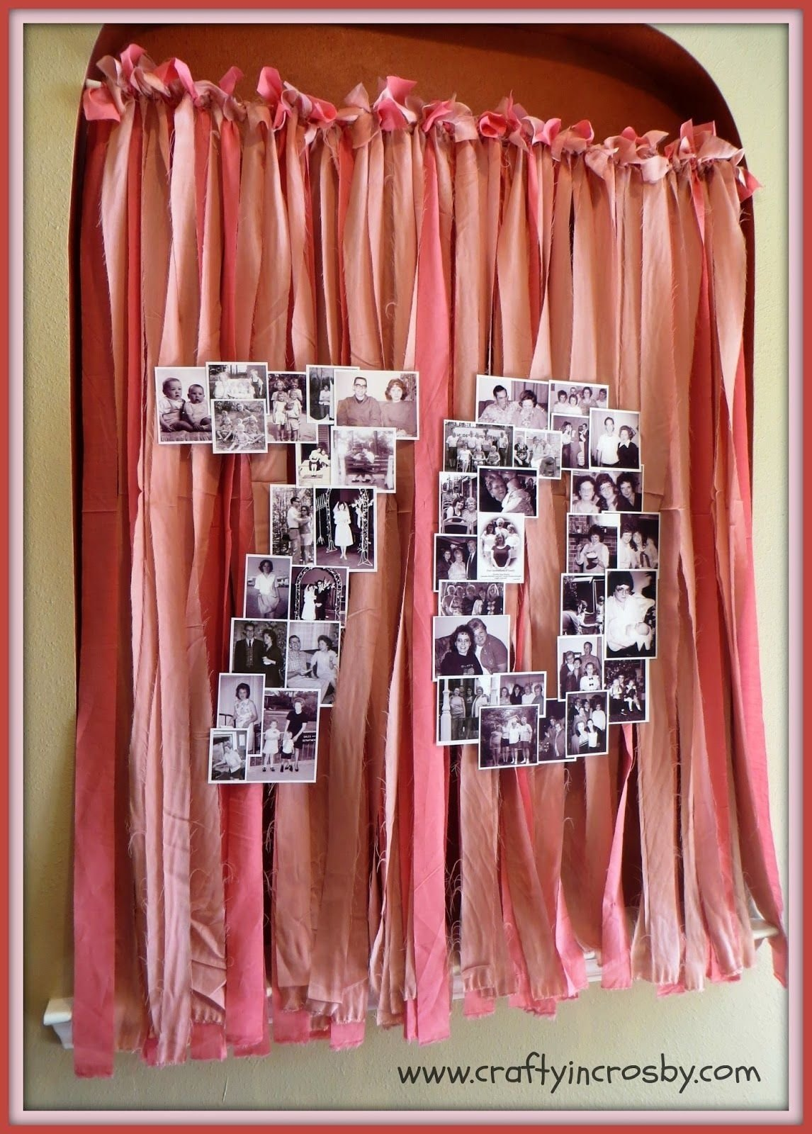 10 Great Surprise 70Th Birthday Party Ideas photo collage for a surprise 70th birthday party large number