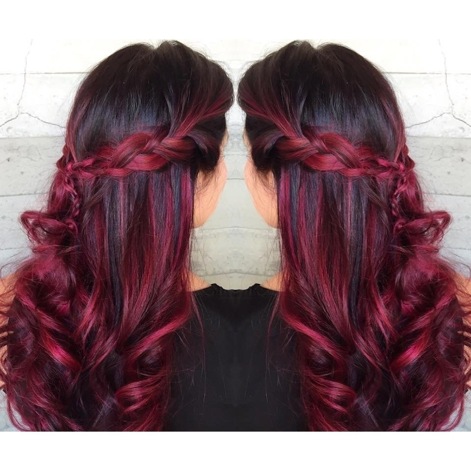 10 Great Red And Black Hair Ideas 2019