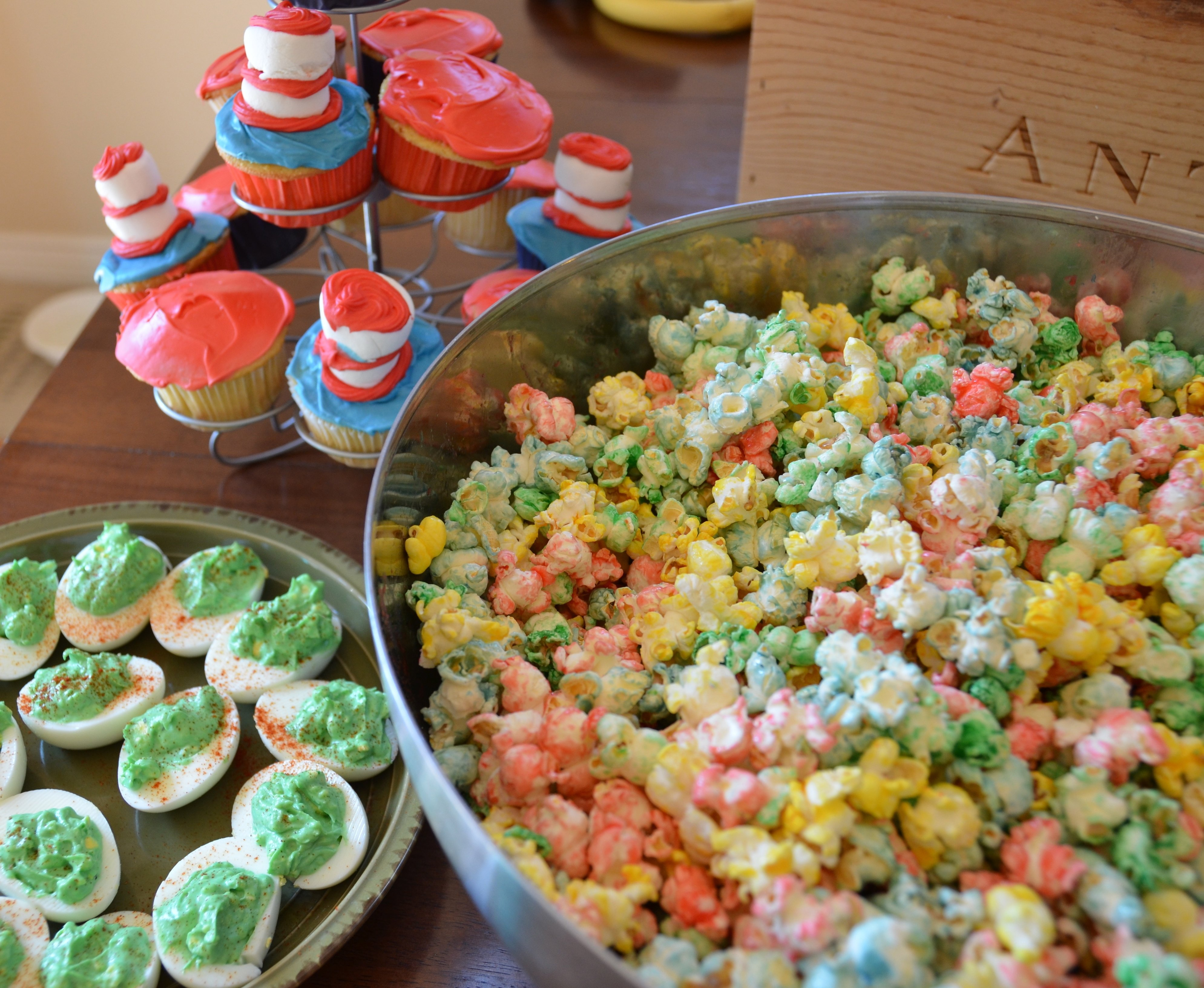 10 Attractive Baby Shower Food Ideas For A Boy photo dr seuss party food image 1 2020