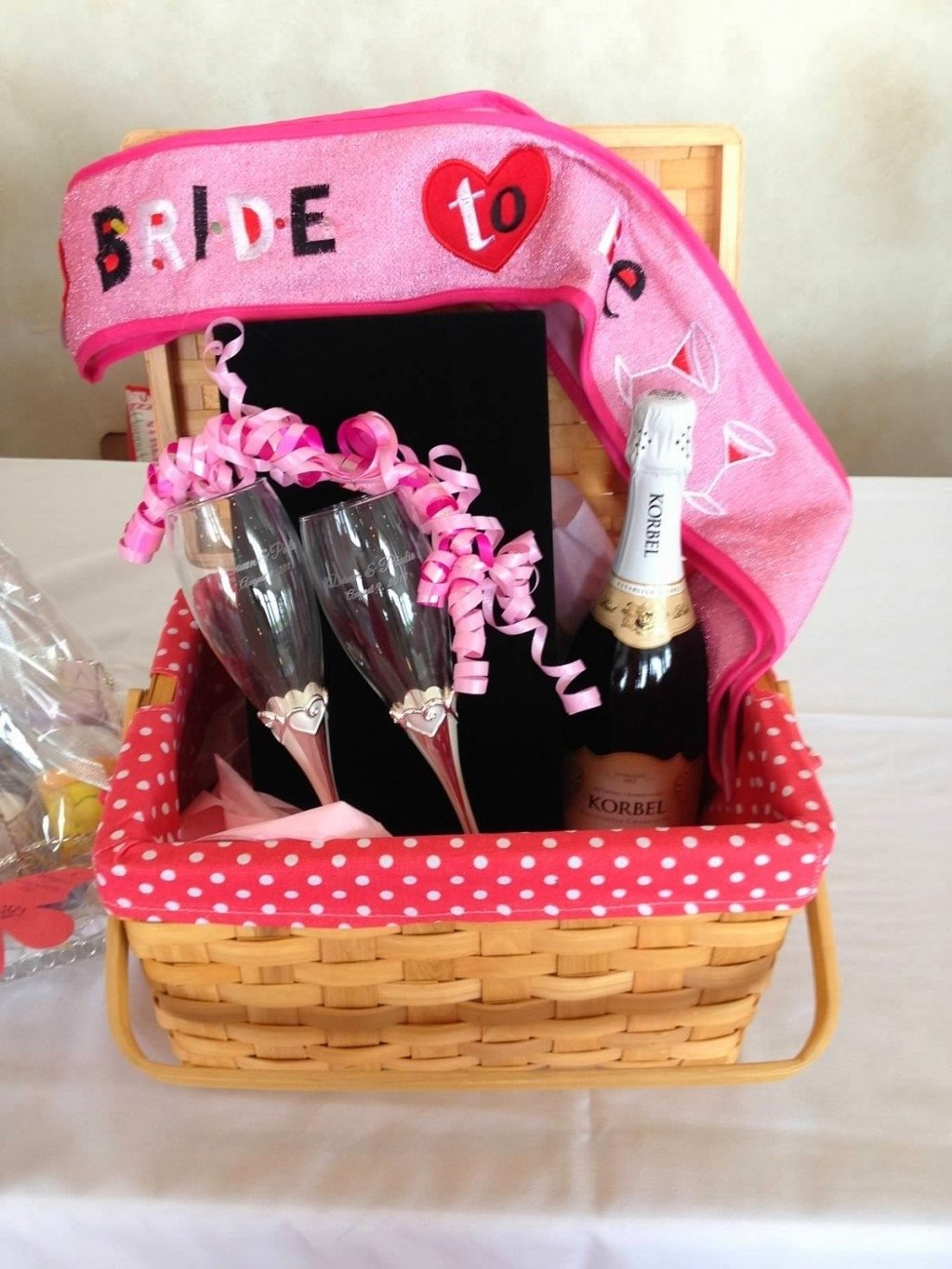 10 Awesome Wedding Shower Gift Basket Ideas photo homemade bridal shower gift image 2020
