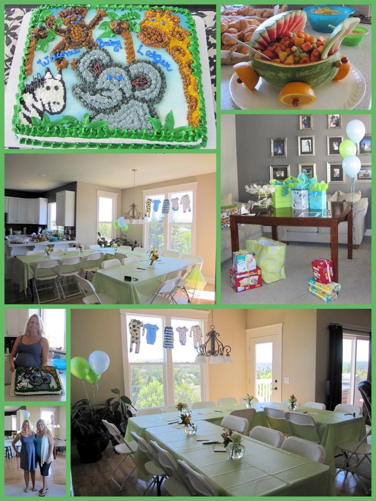 10 Spectacular Safari Jungle Baby Shower Ideas photo jungle theme baby shower ideas image 1 2021
