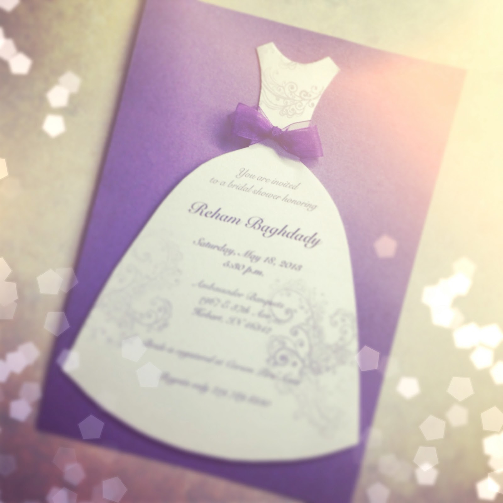 10 Most Recommended Diy Bridal Shower Invitations Ideas photo lace pearls and chocolate image