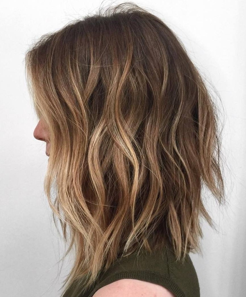 10 Attractive Highlight Ideas For Light Brown Hair photo light brown hair with caramel highlights 60 balayage hair 2020