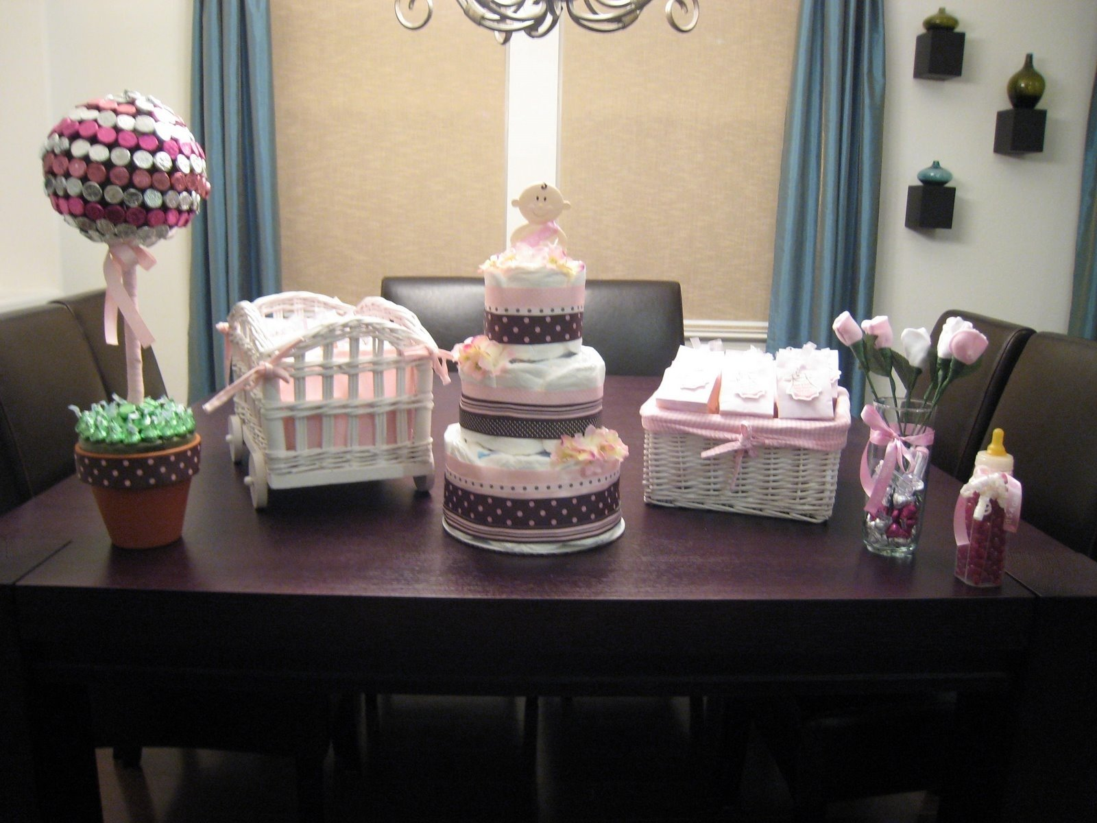 10 Trendy Pink And Brown Baby Shower Ideas