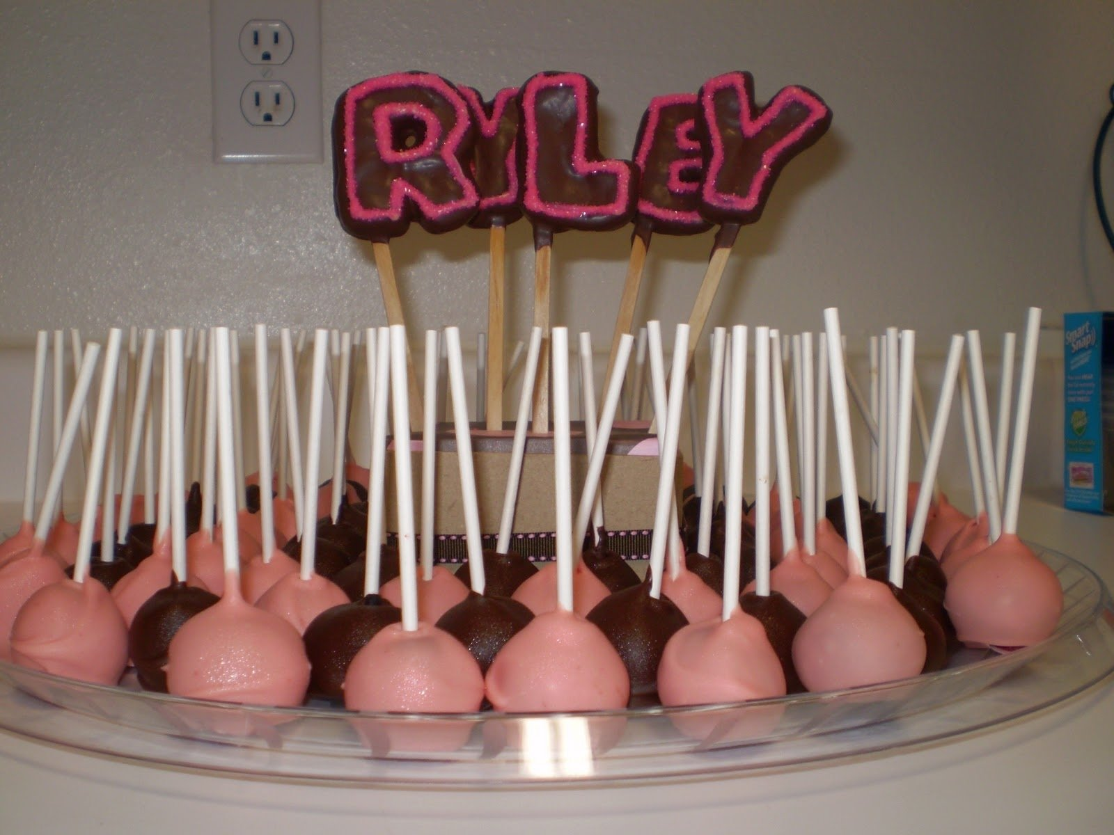 10 Trendy Pink And Brown Baby Shower Ideas photo pink and brown baby shower image