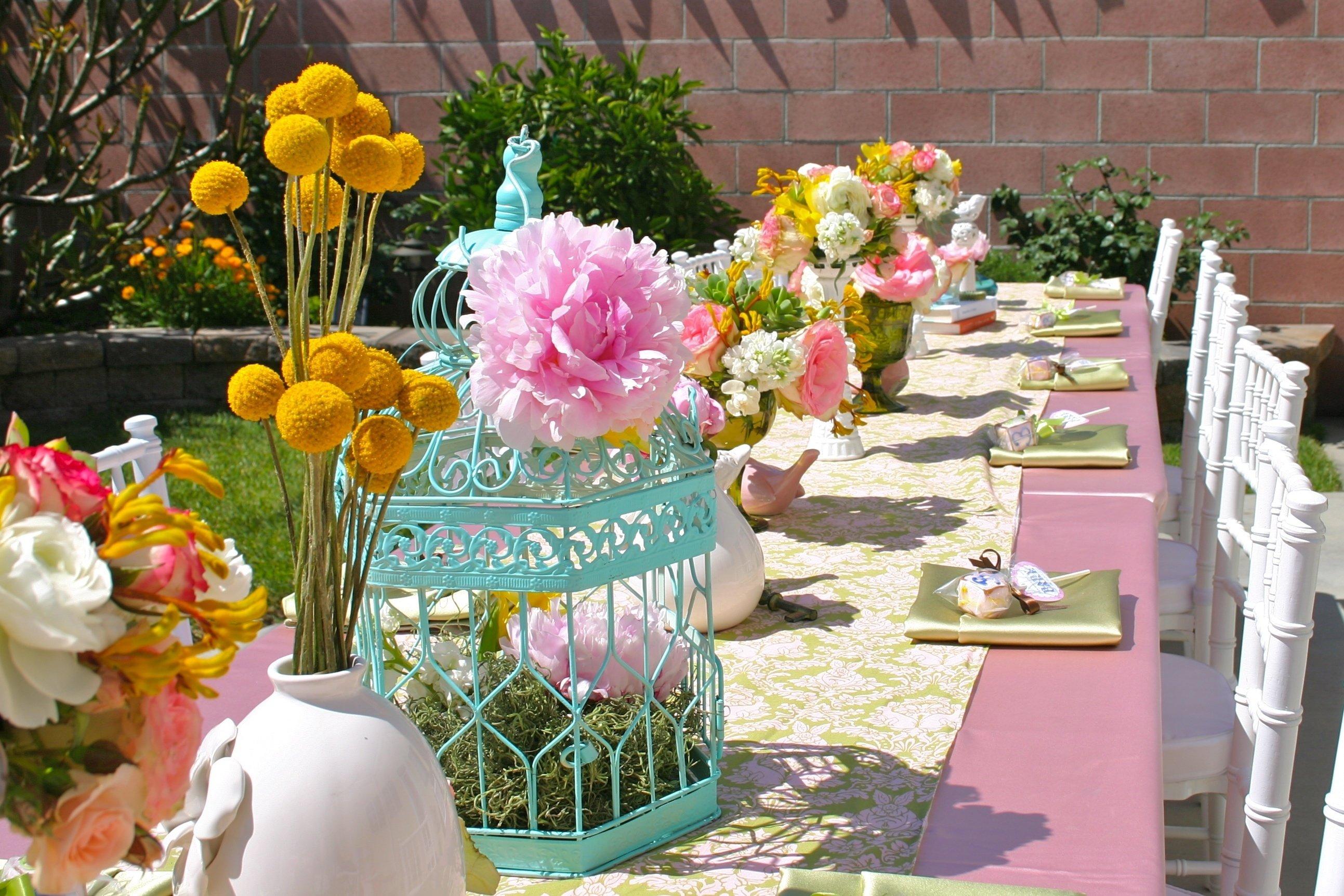 10 Attractive Shabby Chic Bridal Shower Ideas