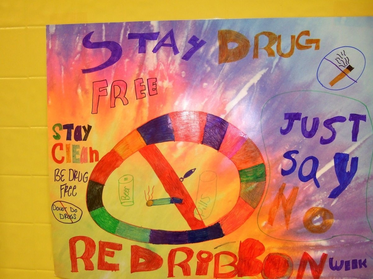 10 Stylish Say No To Drugs Poster Ideas photo stay clean be drug free italy neotribune