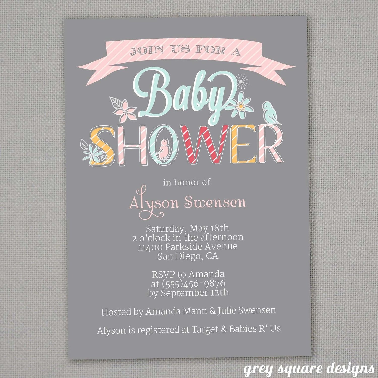 10 Fantastic Baby Shower Wishing Well Ideas photo the stationery place baby image 2020